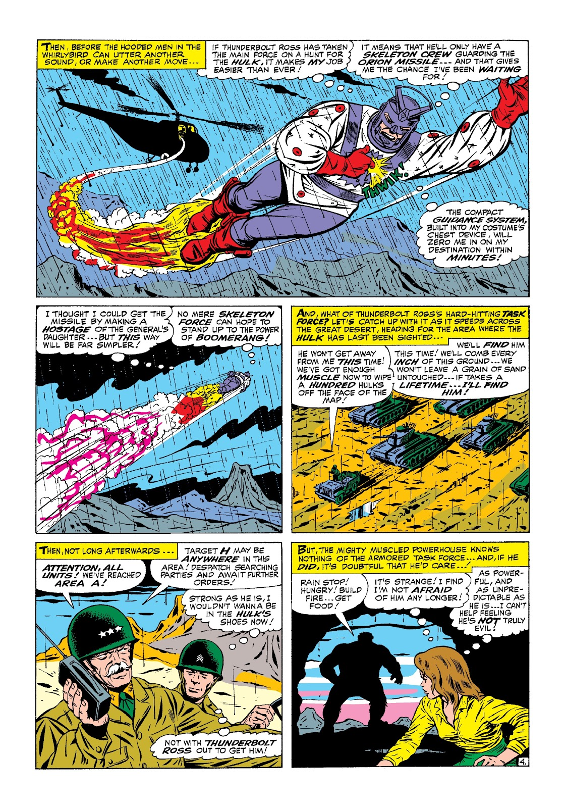 Read online Marvel Masterworks: The Incredible Hulk comic -  Issue # TPB 3 (Part 1) - 44