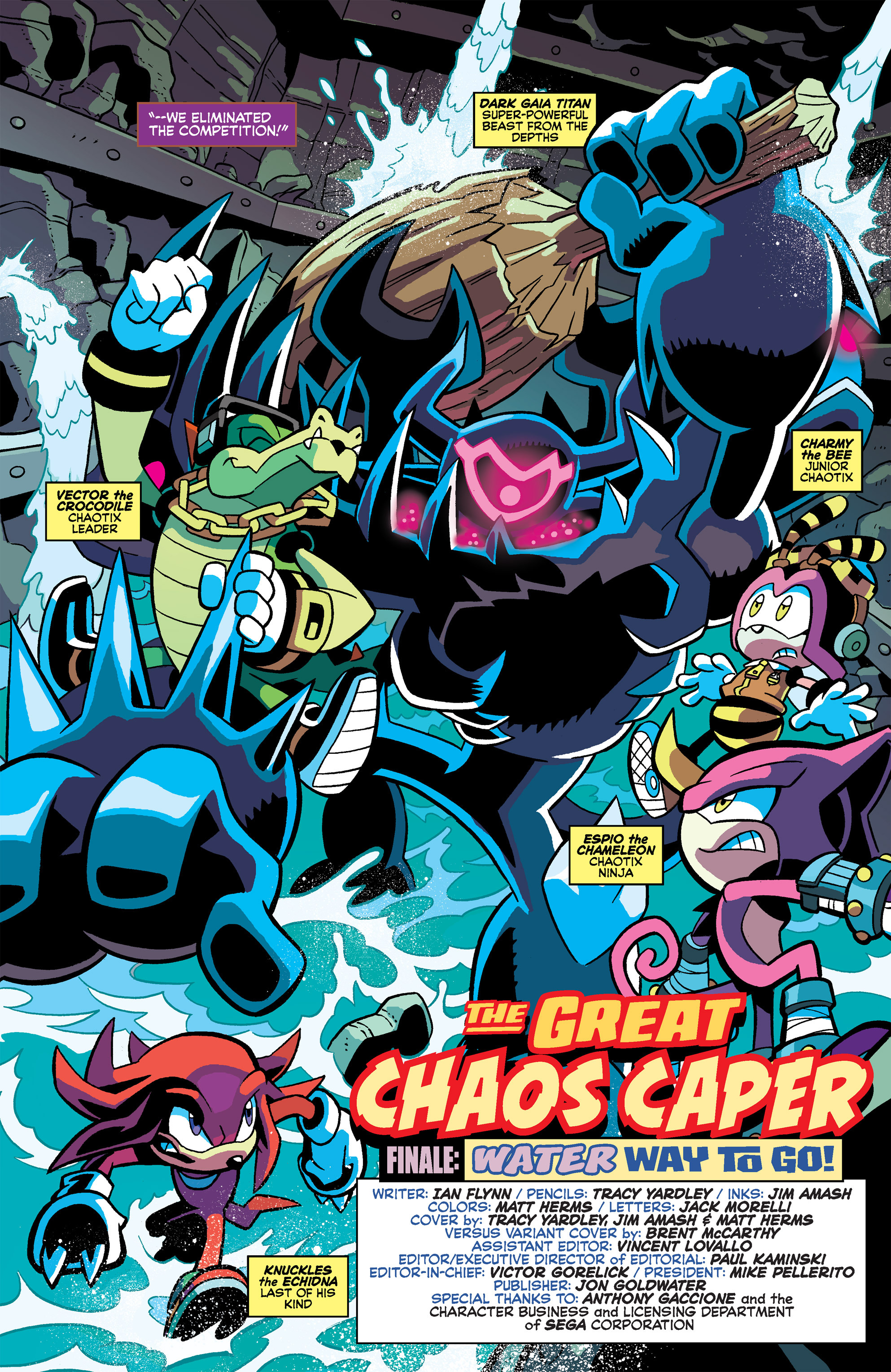 Read online Sonic Universe comic -  Issue #66 - 5