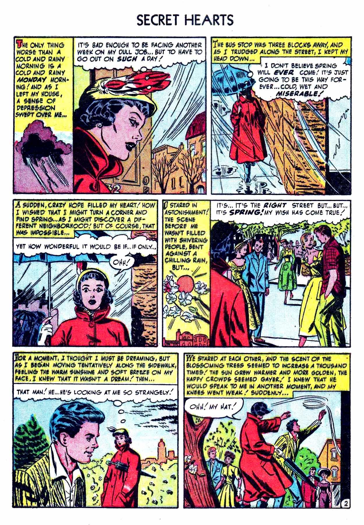 Read online Secret Hearts comic -  Issue #8 - 4