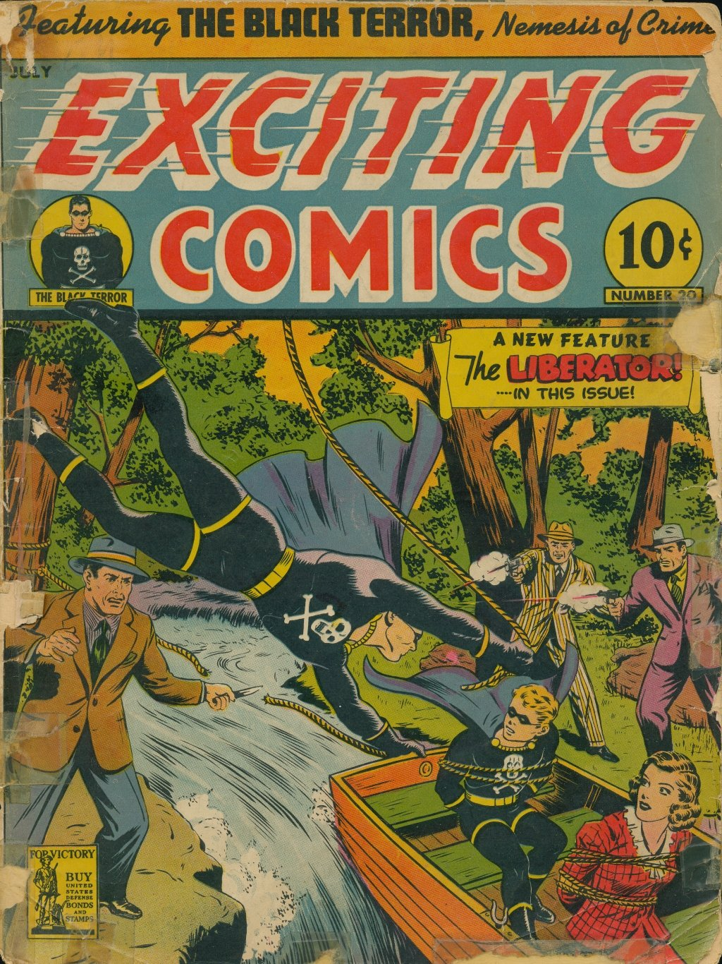 Exciting Comics (1940) issue 20 - Page 1