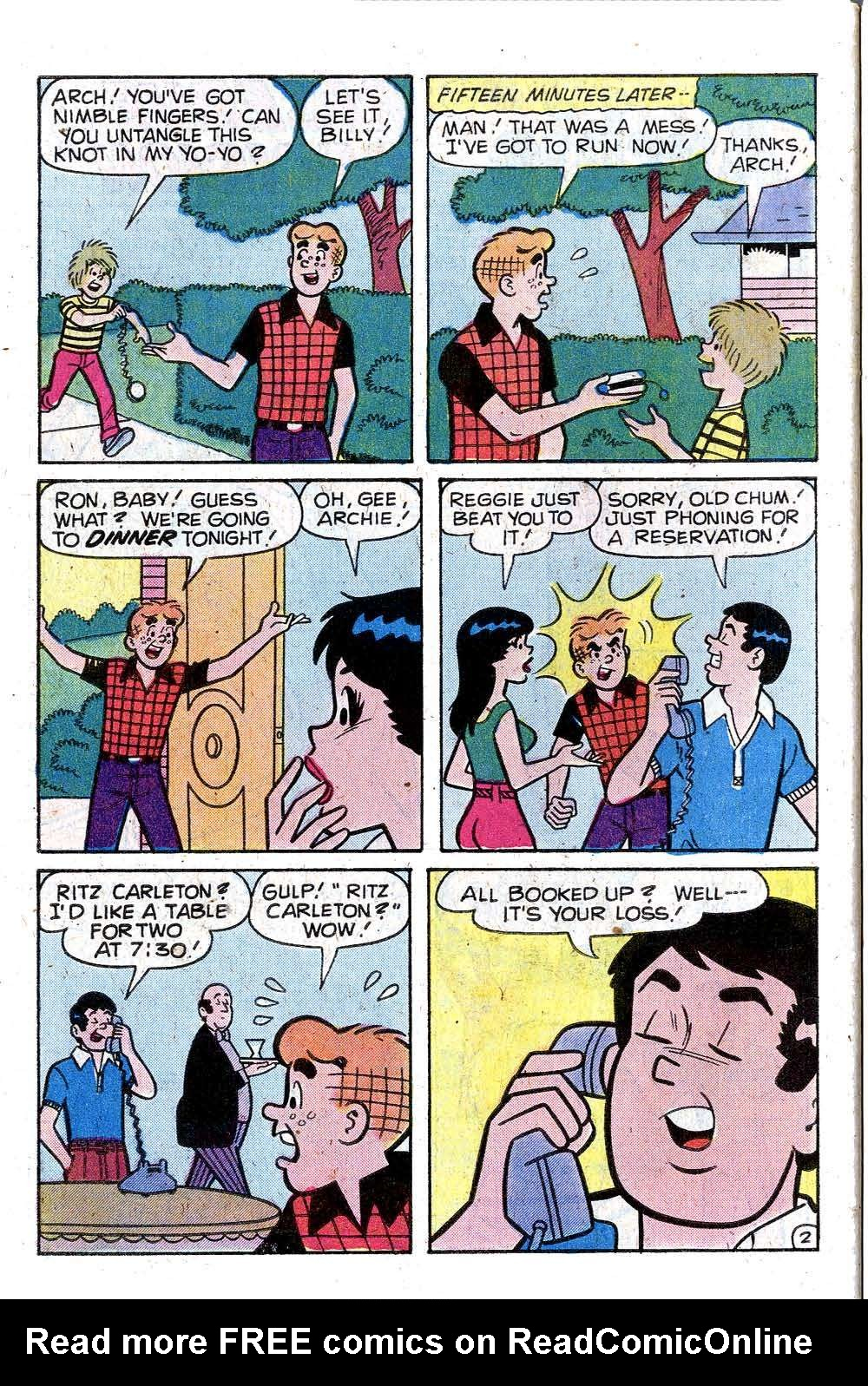 Read online Archie (1960) comic -  Issue #287 - 30
