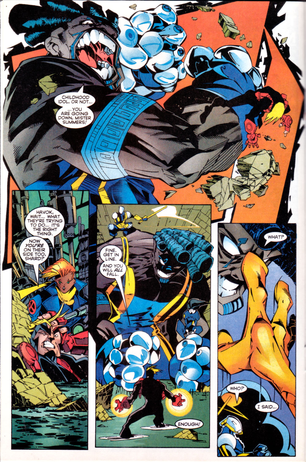 Read online X-Factor (1986) comic -  Issue #144 - 11