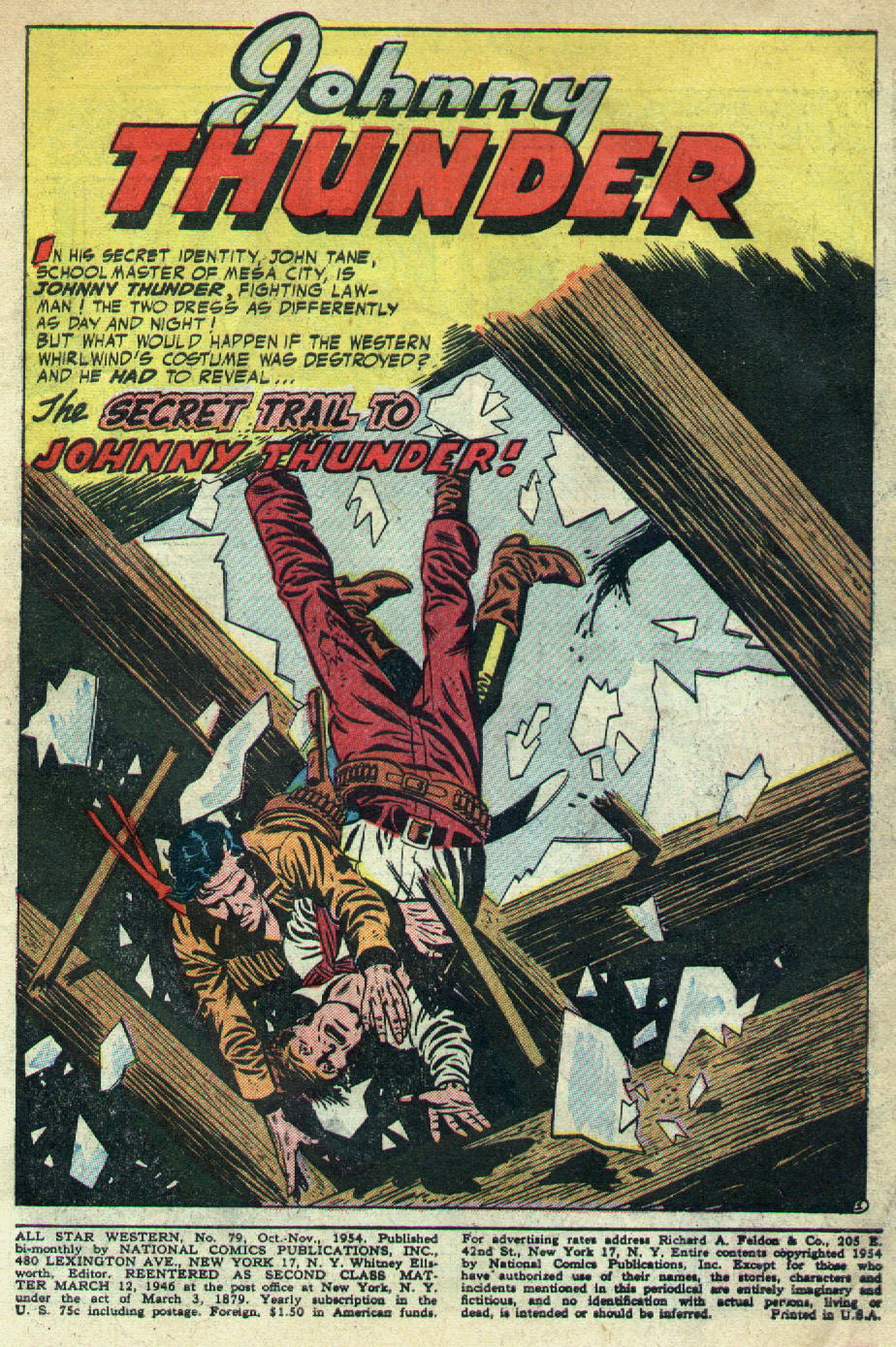 Read online All-Star Western (1951) comic -  Issue #79 - 3