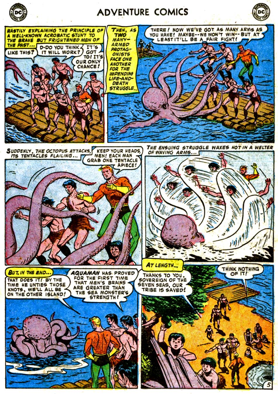 Read online Adventure Comics (1938) comic -  Issue #184 - 21