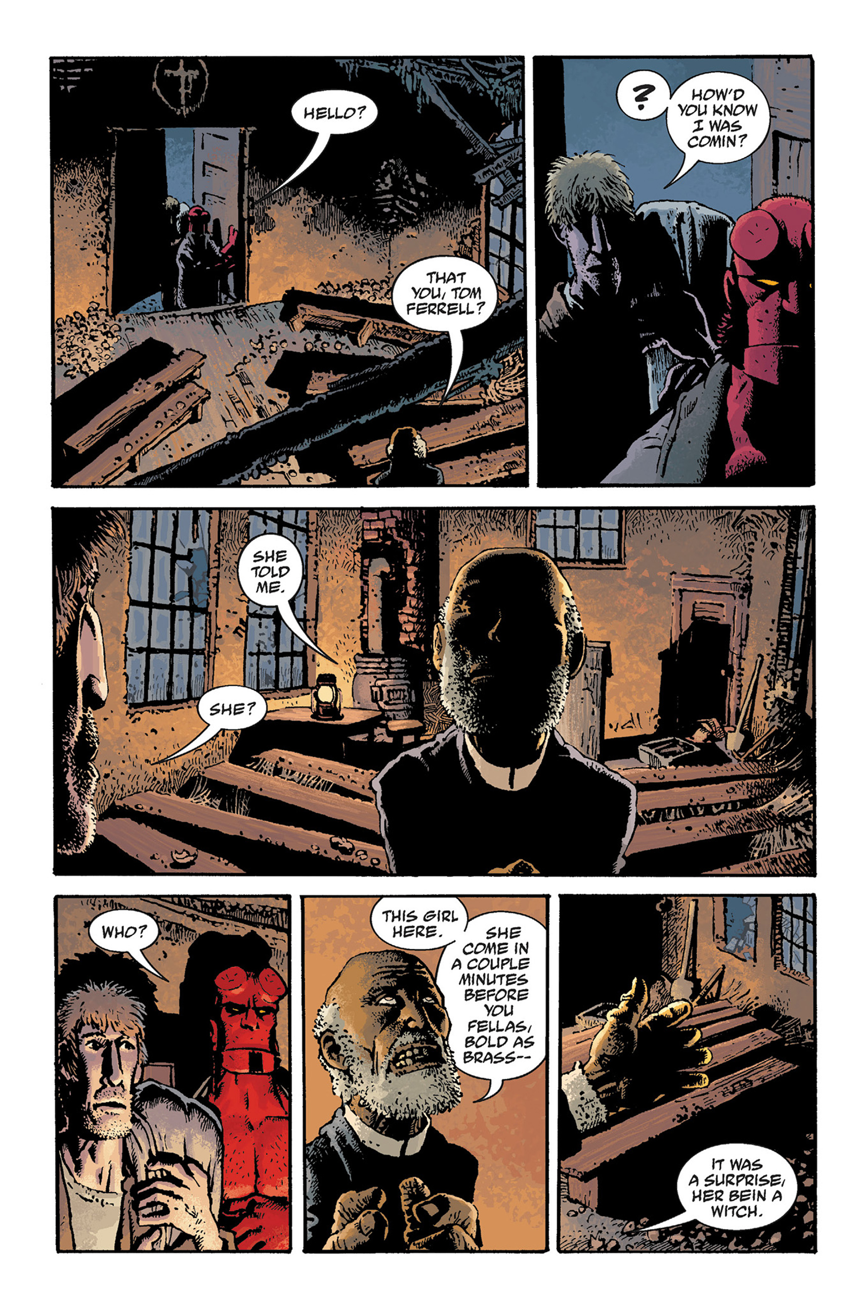 Read online Hellboy: The Crooked Man and Others comic -  Issue # TPB - 50