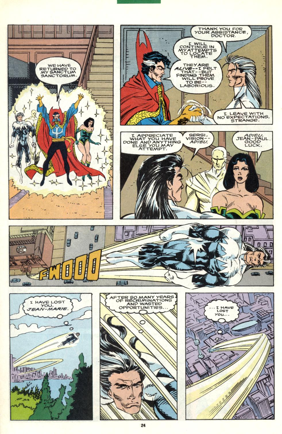 Read online Alpha Flight (1983) comic -  Issue #101 - 19