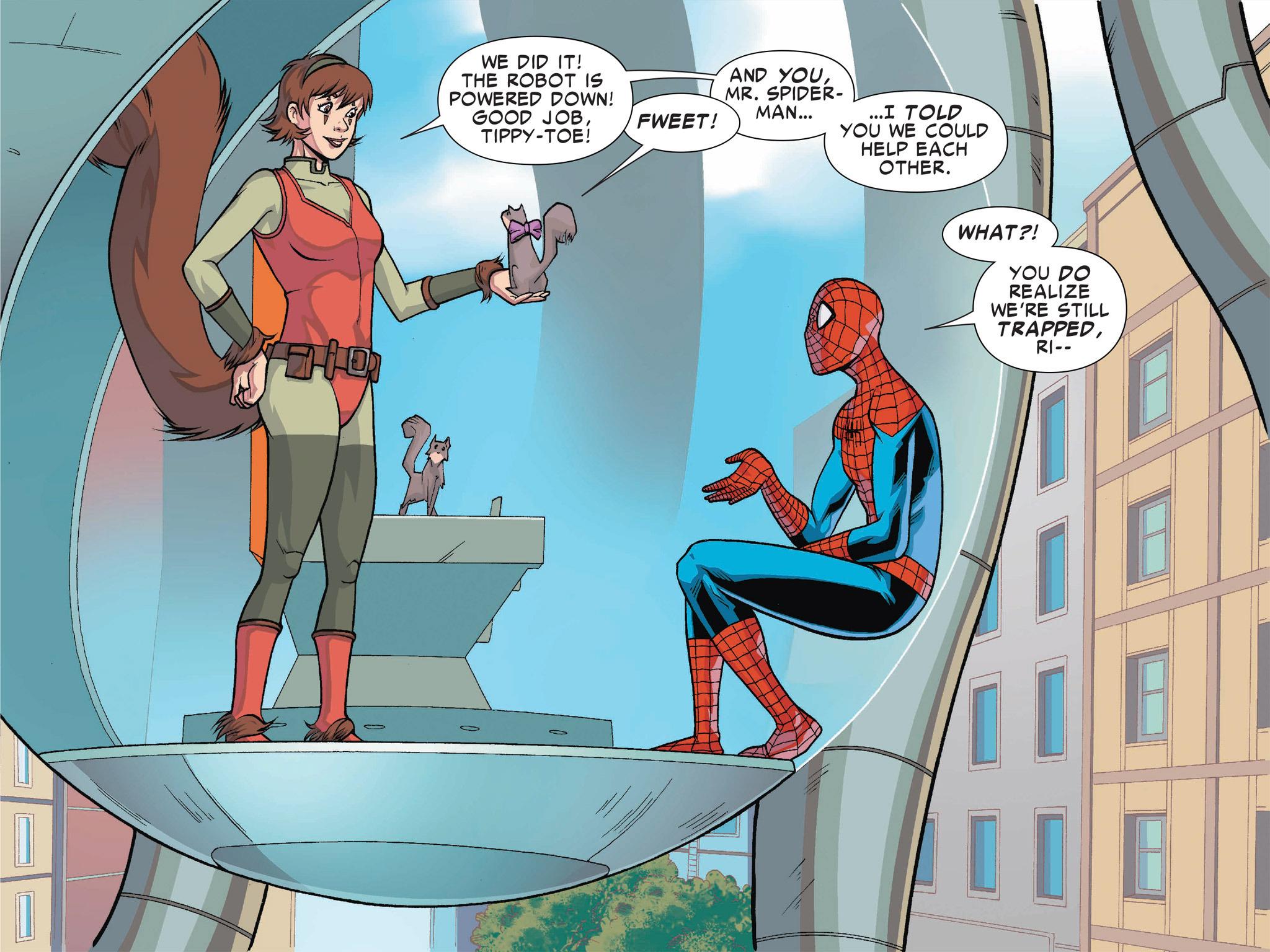 Read online Ultimate Spider-Man (Infinite Comics) (2016) comic -  Issue #1 - 46