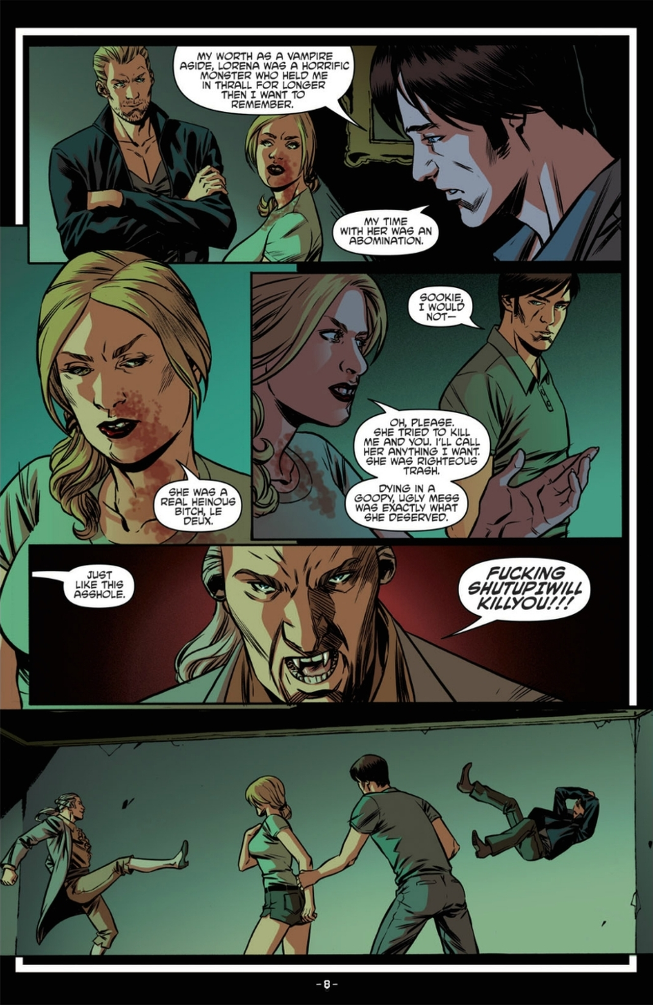 Read online True Blood: French Quarter comic -  Issue #6 - 13
