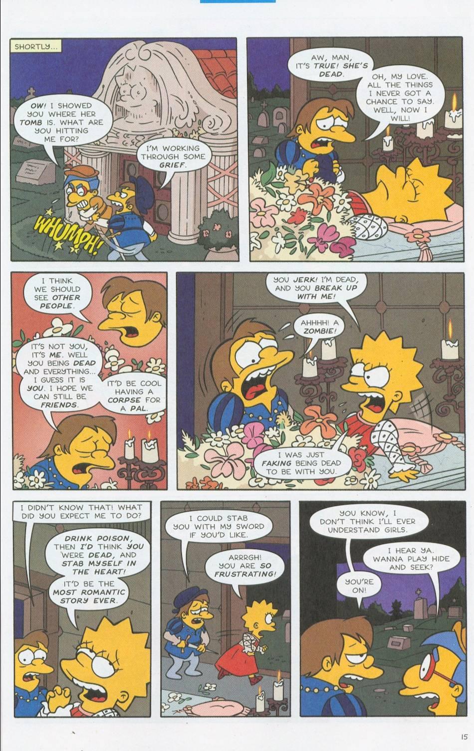 Read online Simpsons Comics comic -  Issue #76 - 16