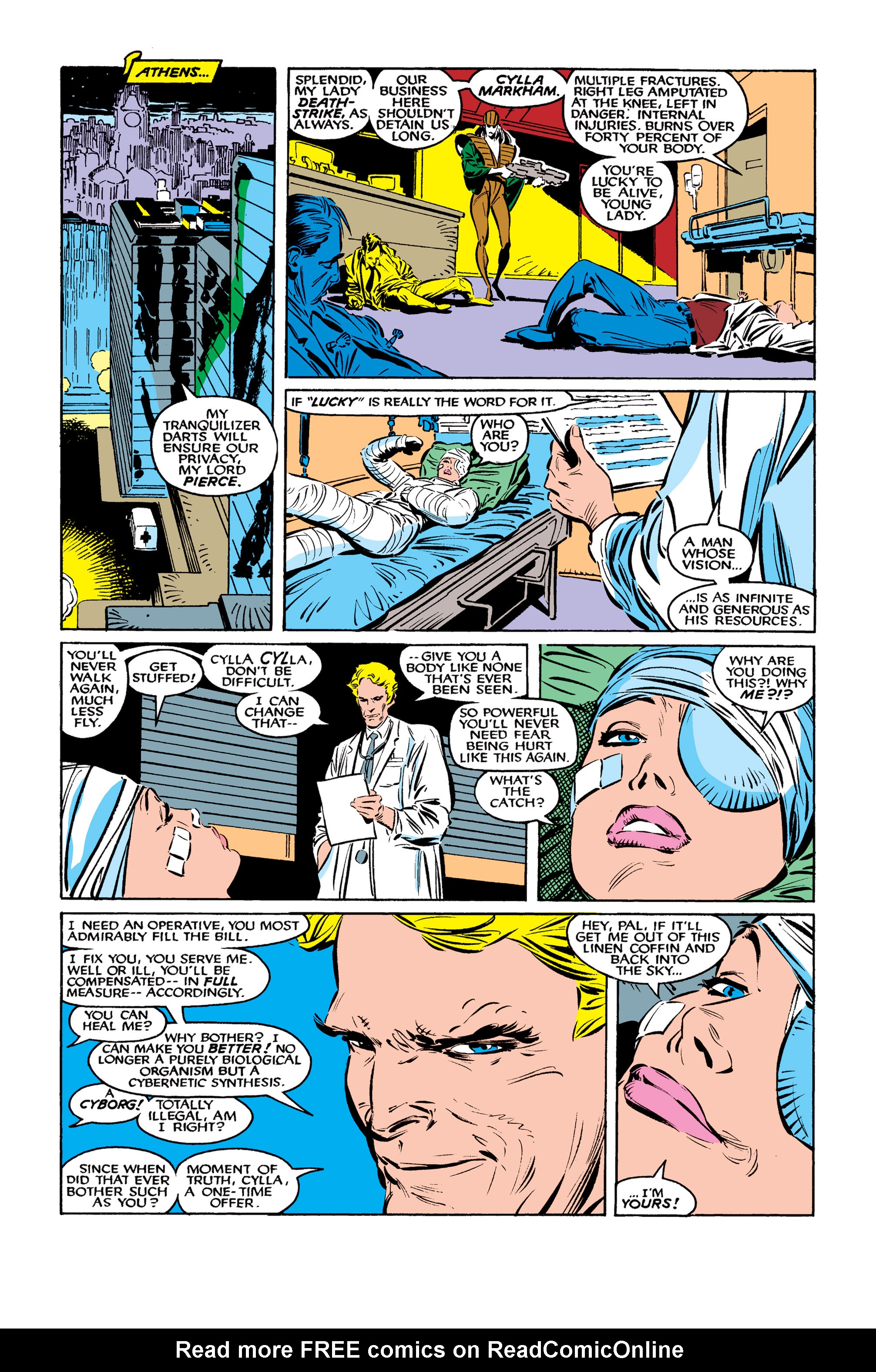 Read online Uncanny X-Men (1963) comic -  Issue #261 - 13