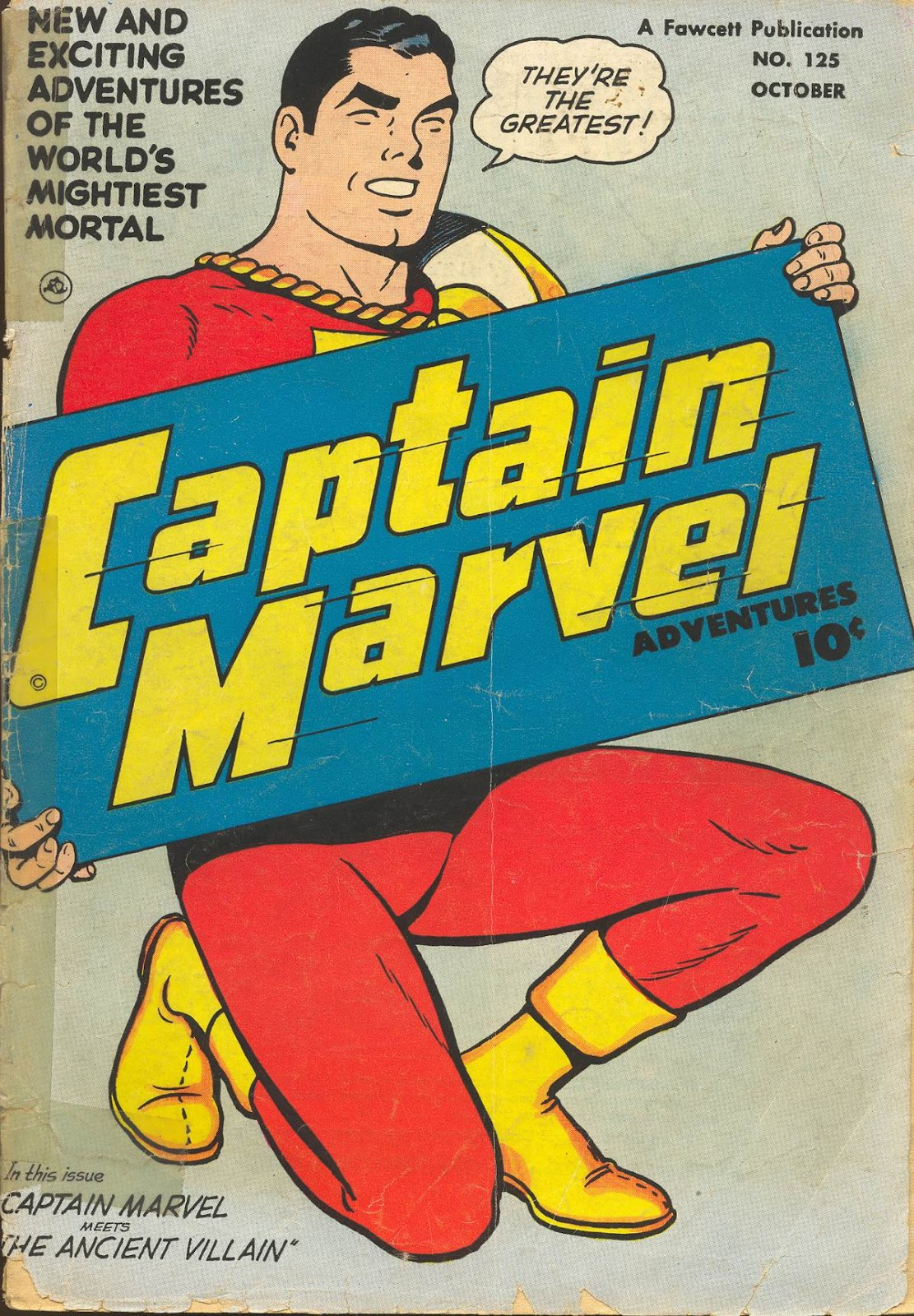 Captain Marvel Adventures issue 125 - Page 1