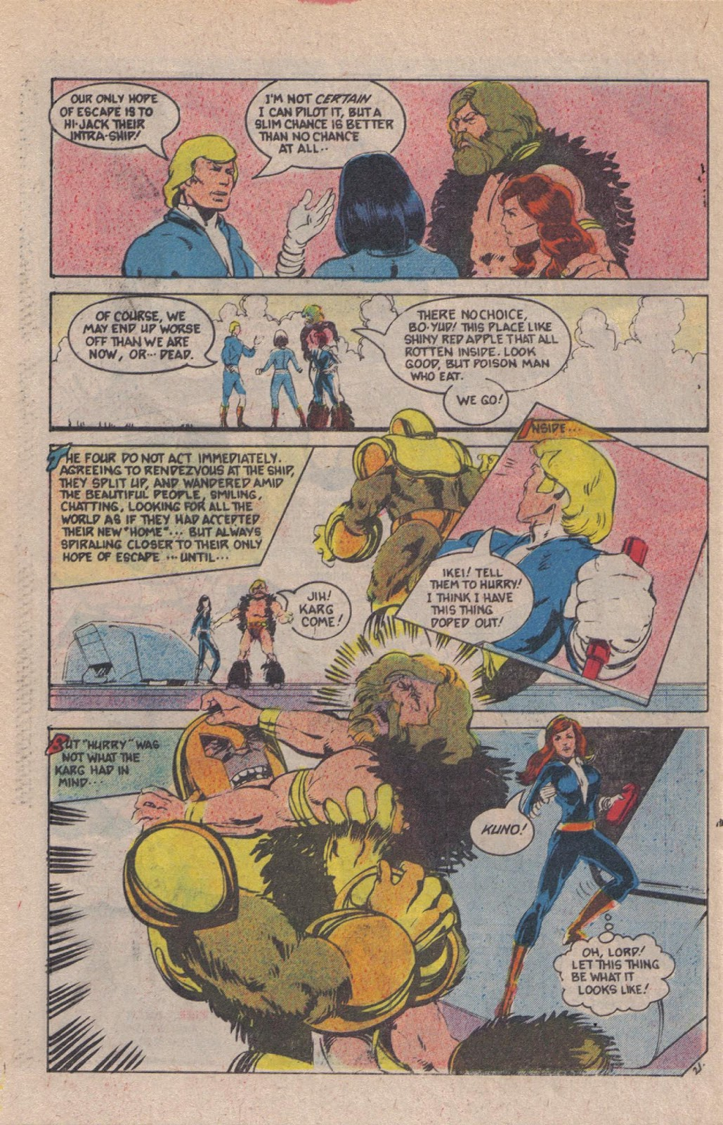 Read online Doomsday   1 (1975) comic -  Issue #12 - 27