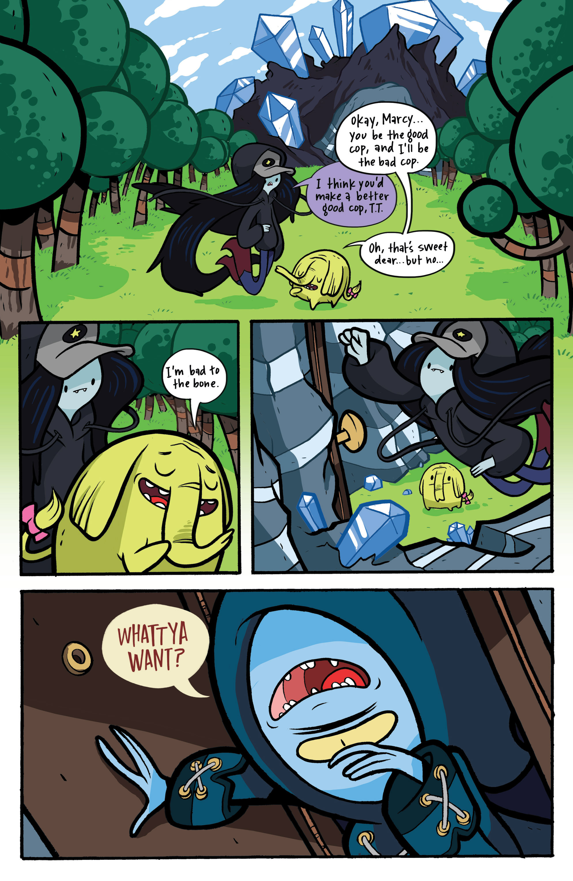 Read online Adventure Time: Candy Capers comic -  Issue #2 - 17