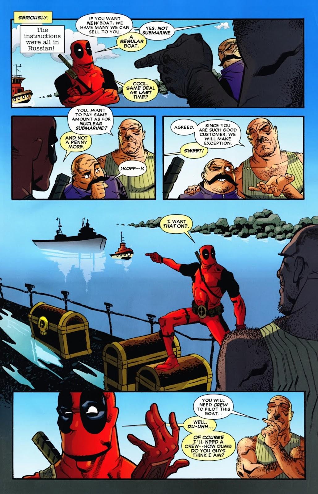 Read online Deadpool (2008) comic -  Issue #13 - 4