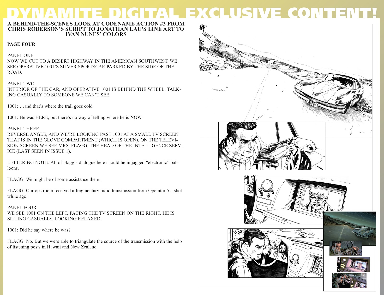 Read online Codename: Action comic -  Issue #3 - 38