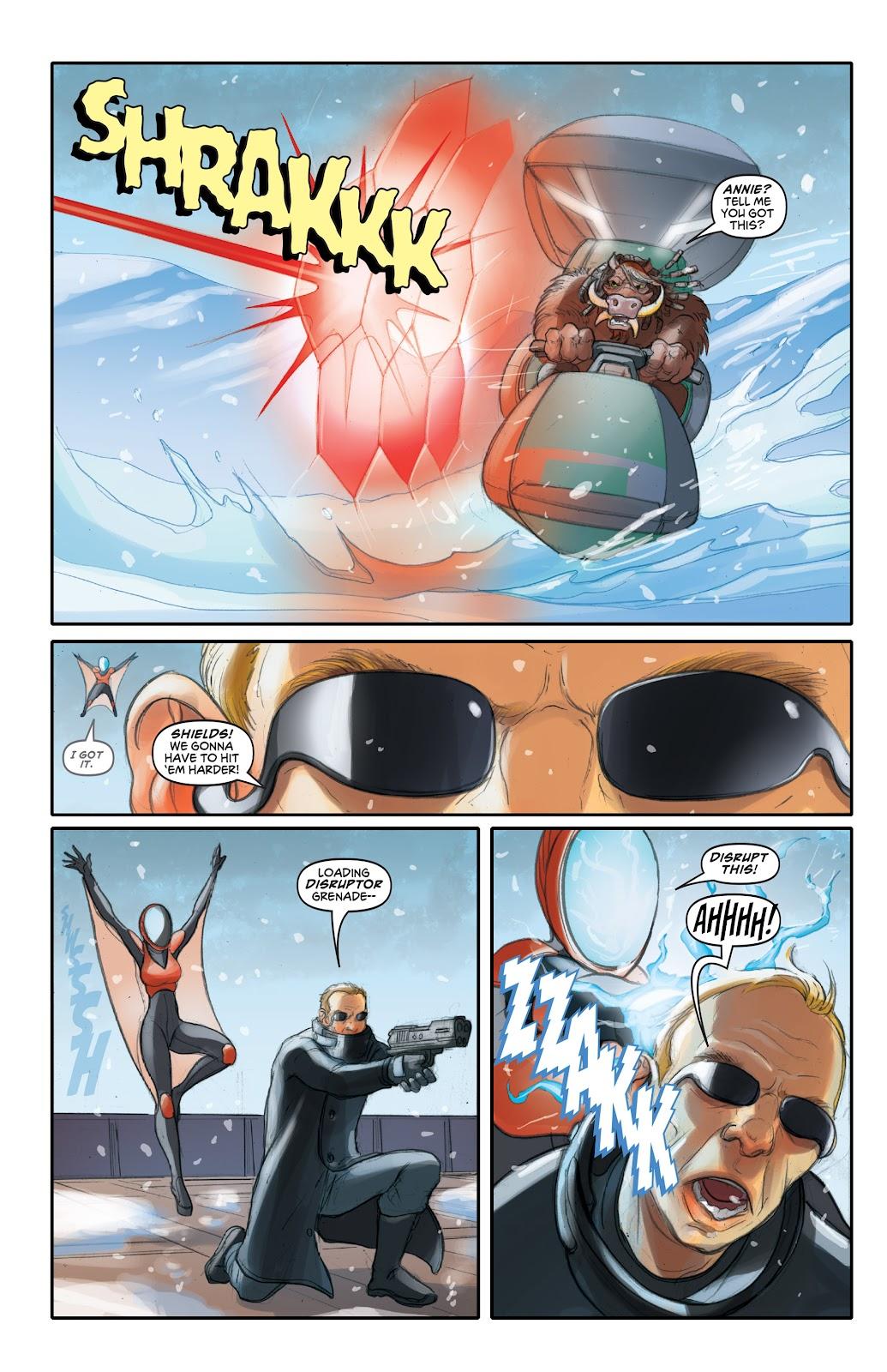 Read online Elephantmen 2261 Season Two: The Pentalion Job comic -  Issue # TPB - 33