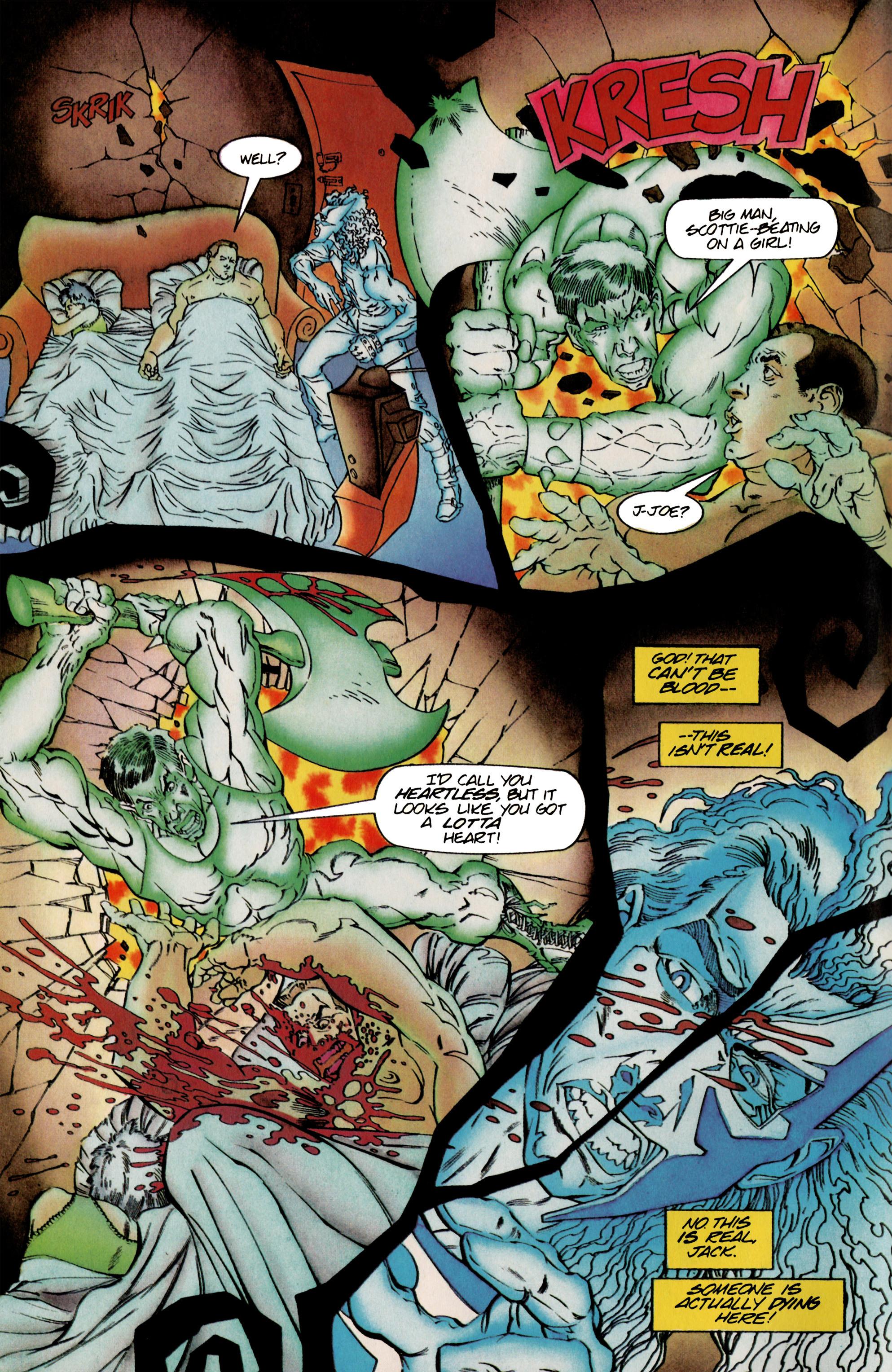Read online Shadowman (1992) comic -  Issue #25 - 5