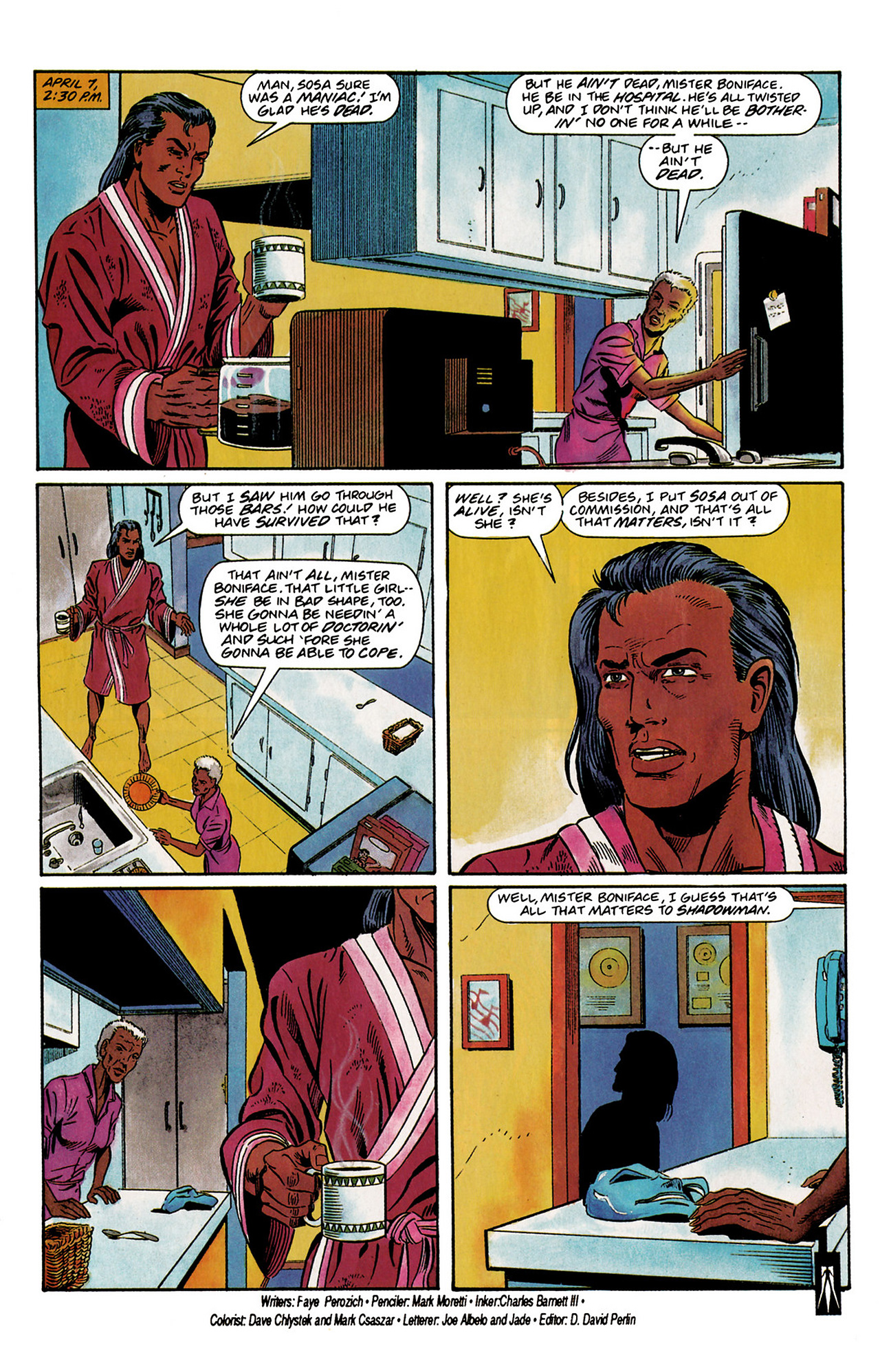 Read online Shadowman (1992) comic -  Issue #3 - 23