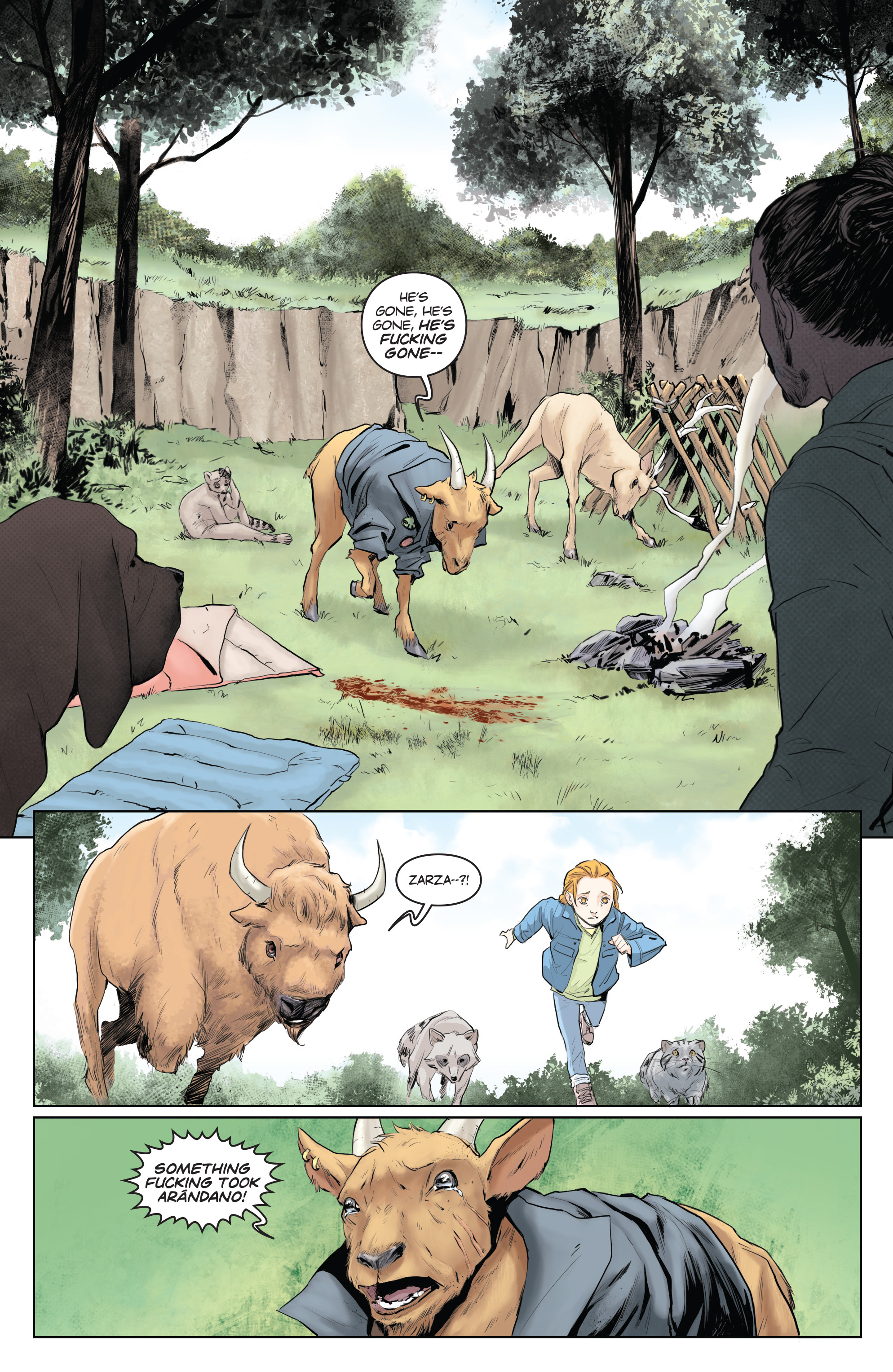 Read online Animosity comic -  Issue #5 - 14