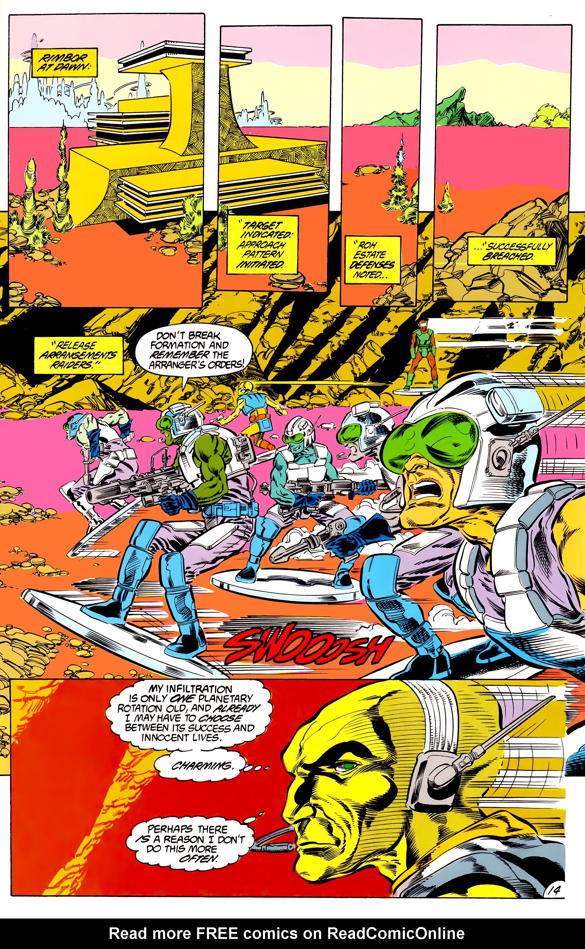 Legion of Super-Heroes (1984) 46 Page 14