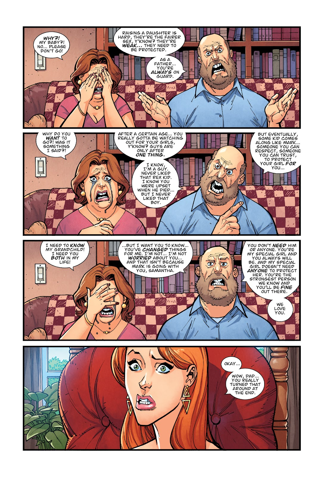 Invincible (2003) issue TPB 21 - Modern Family - Page 59