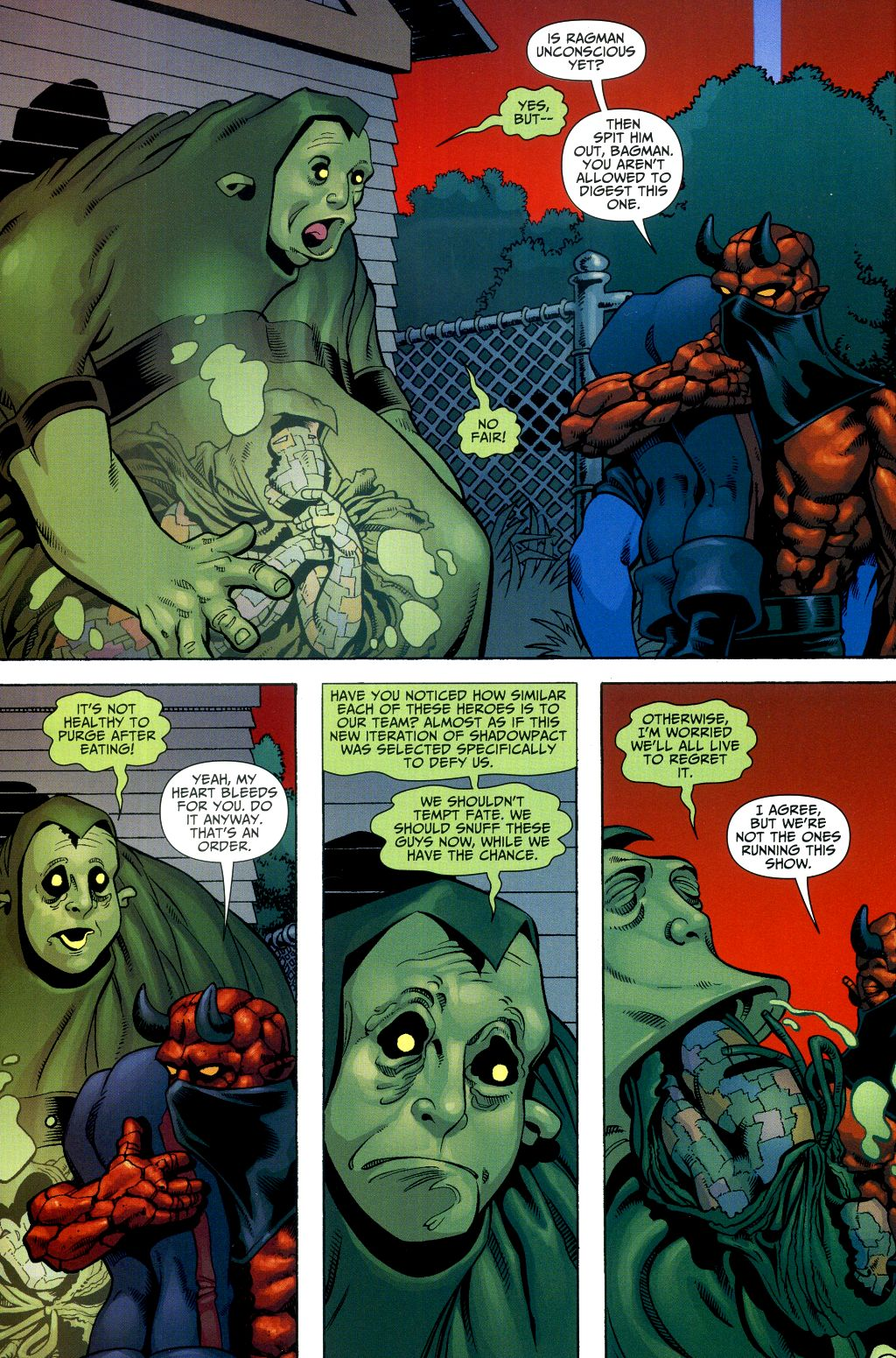 Read online Shadowpact comic -  Issue #2 - 15