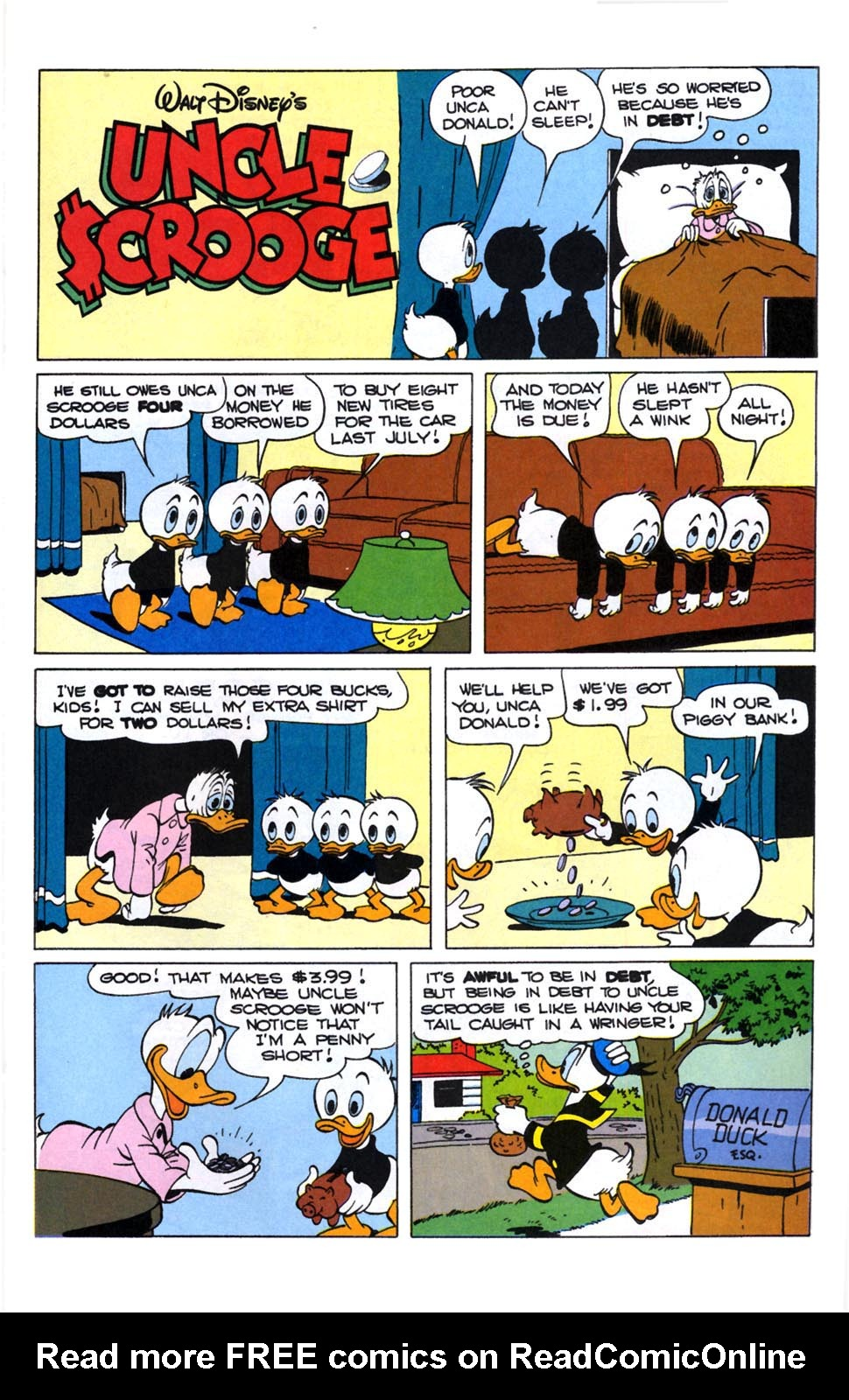 Read online Uncle Scrooge (1953) comic -  Issue #246 - 19