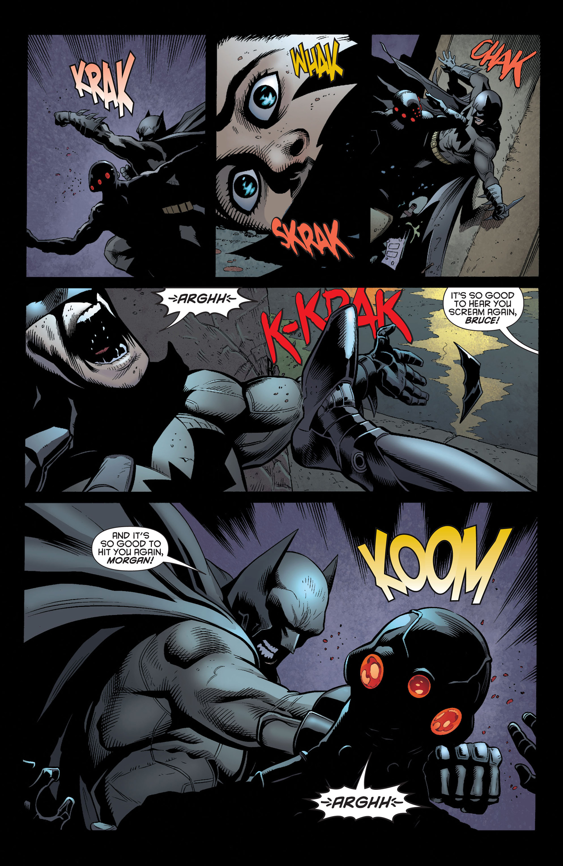 Read online Batman and Robin (2011) comic -  Issue #3 - 16
