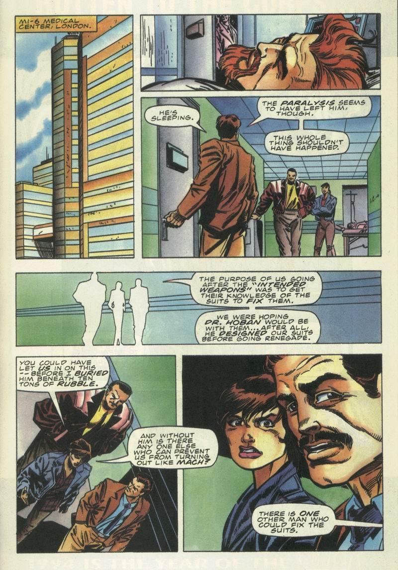 Read online Secret Weapons comic -  Issue #16 - 10