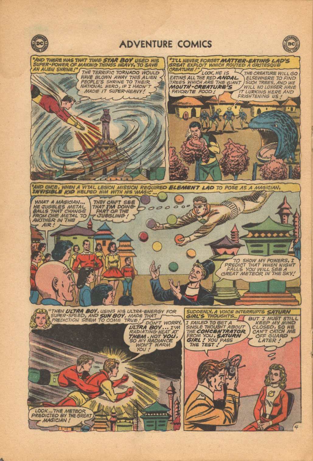 Read online Adventure Comics (1938) comic -  Issue #321 - 16