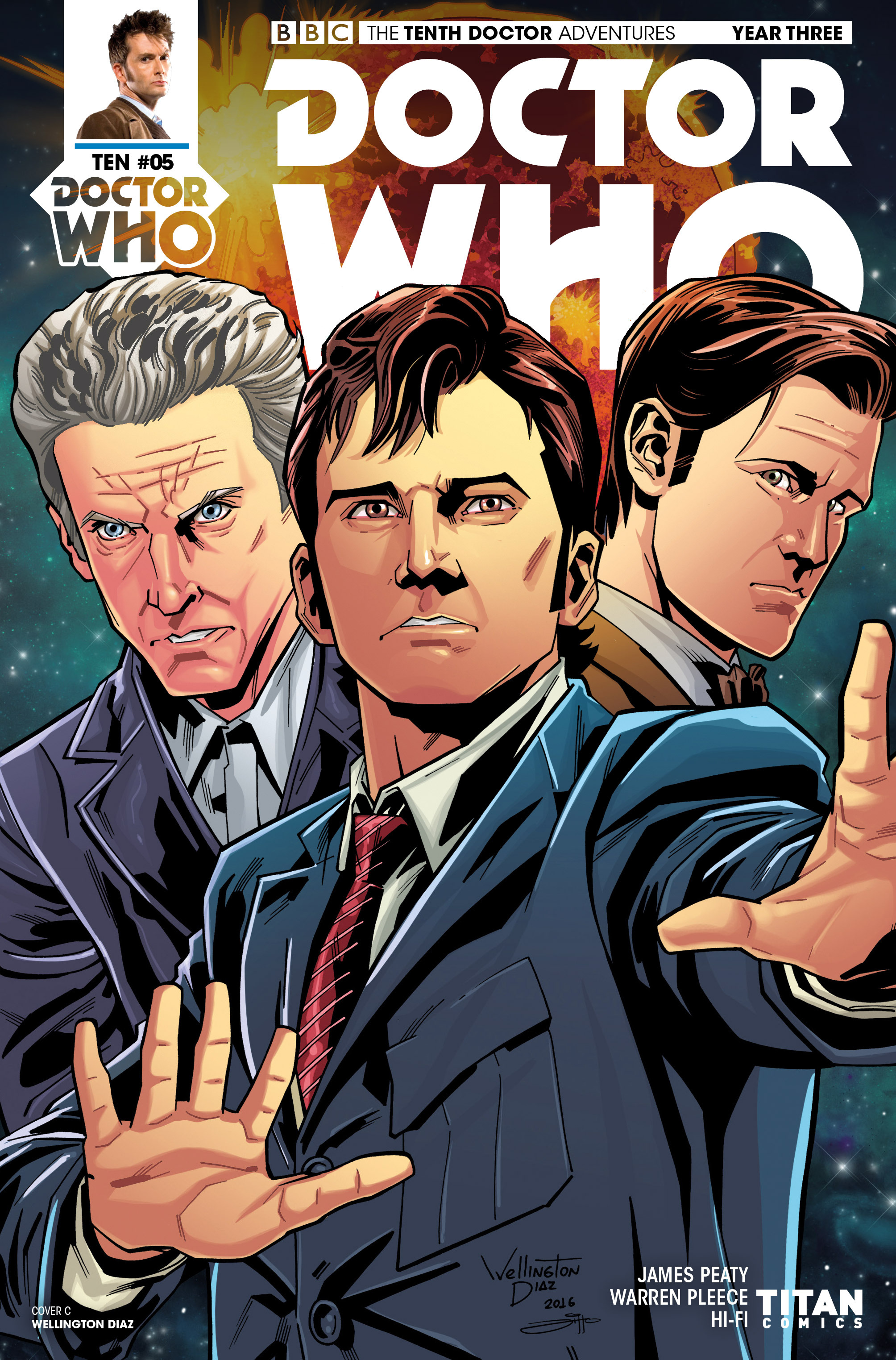 Read online Doctor Who: The Tenth Doctor Year Three comic -  Issue #5 - 3