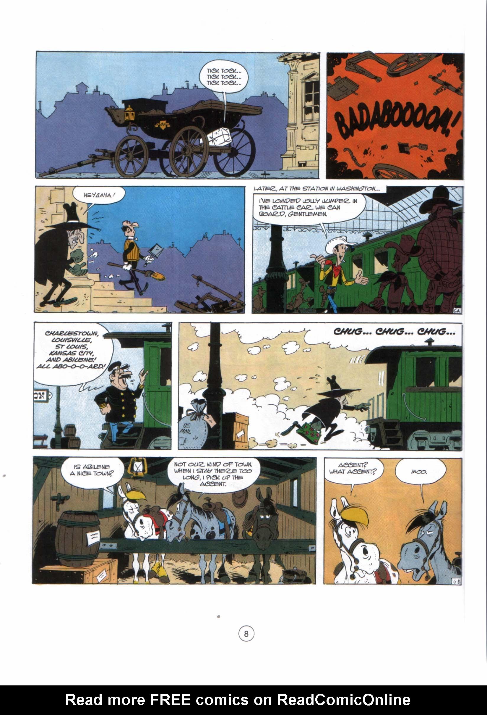 Read online A Lucky Luke Adventure comic -  Issue #29 - 7
