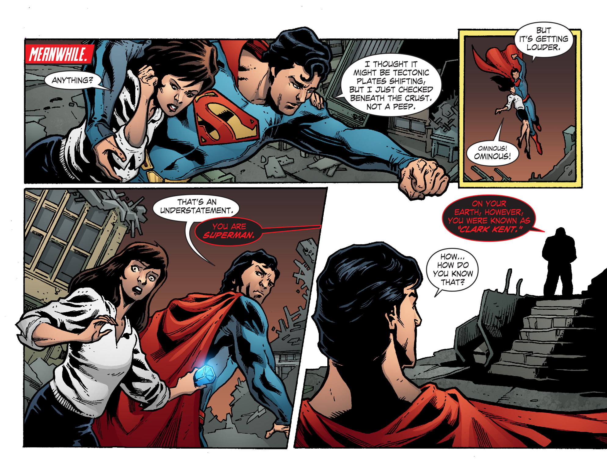 Read online Smallville: Chaos [II] comic -  Issue #7 - 21