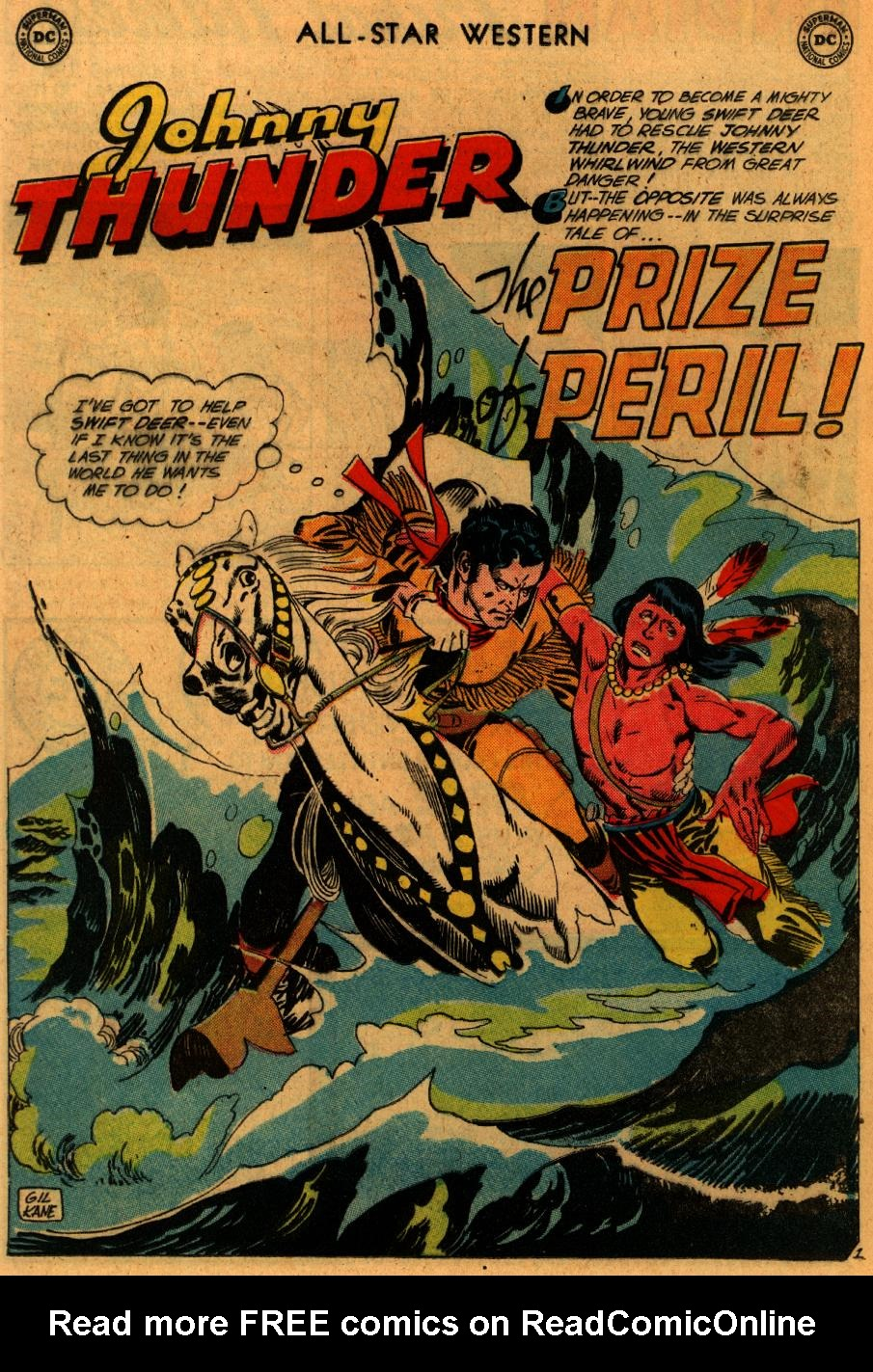 Read online All-Star Western (1951) comic -  Issue #102 - 24
