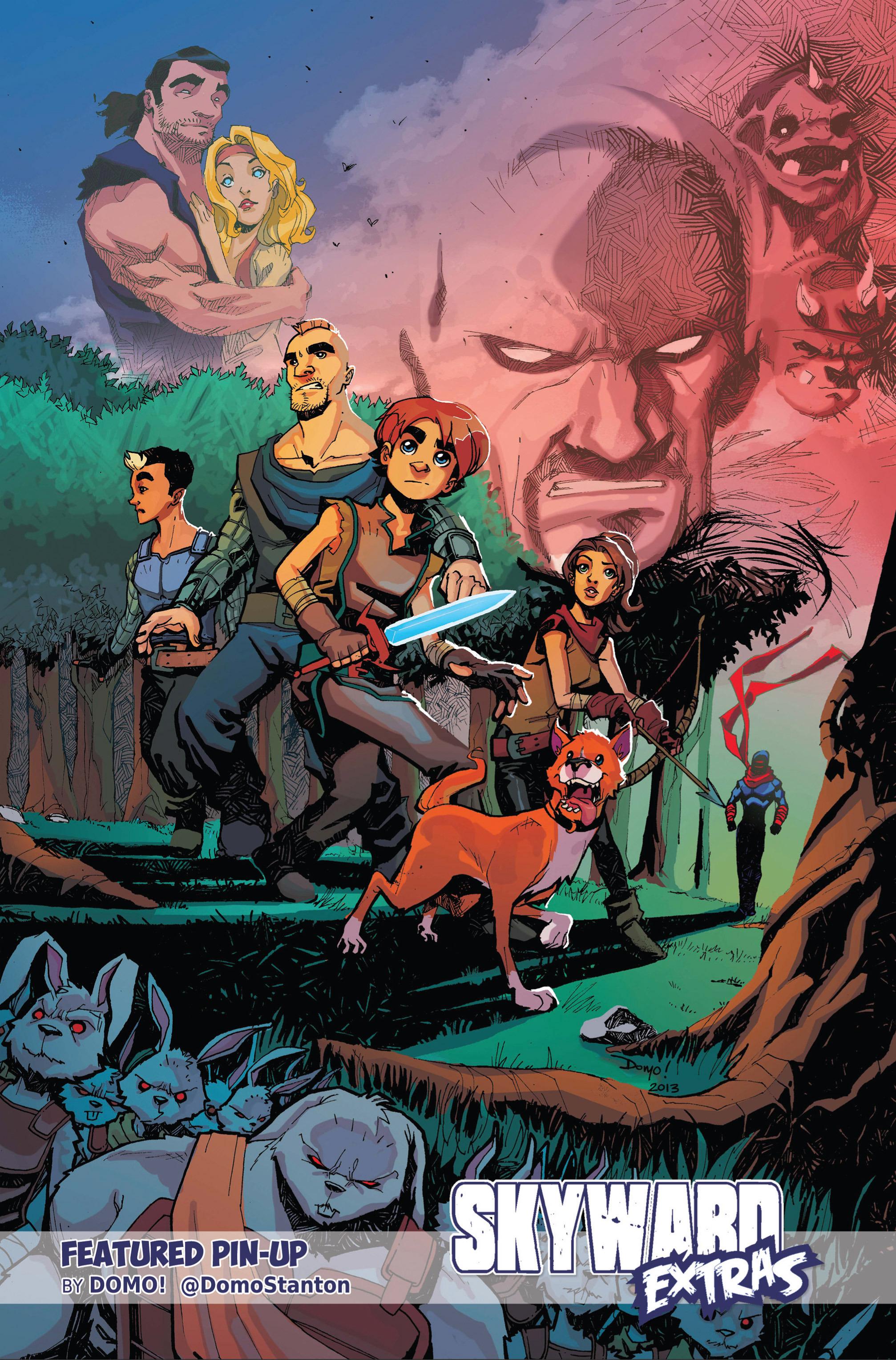 Read online Skyward comic -  Issue #9 - 23