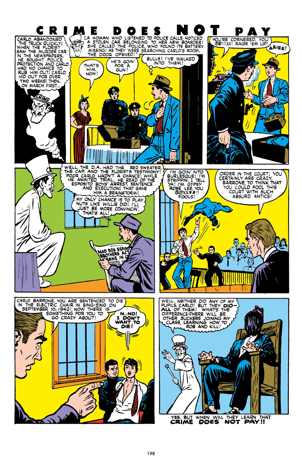 Read online Crime Does Not Pay Archives comic -  Issue # TPB 8 (Part 2) - 99