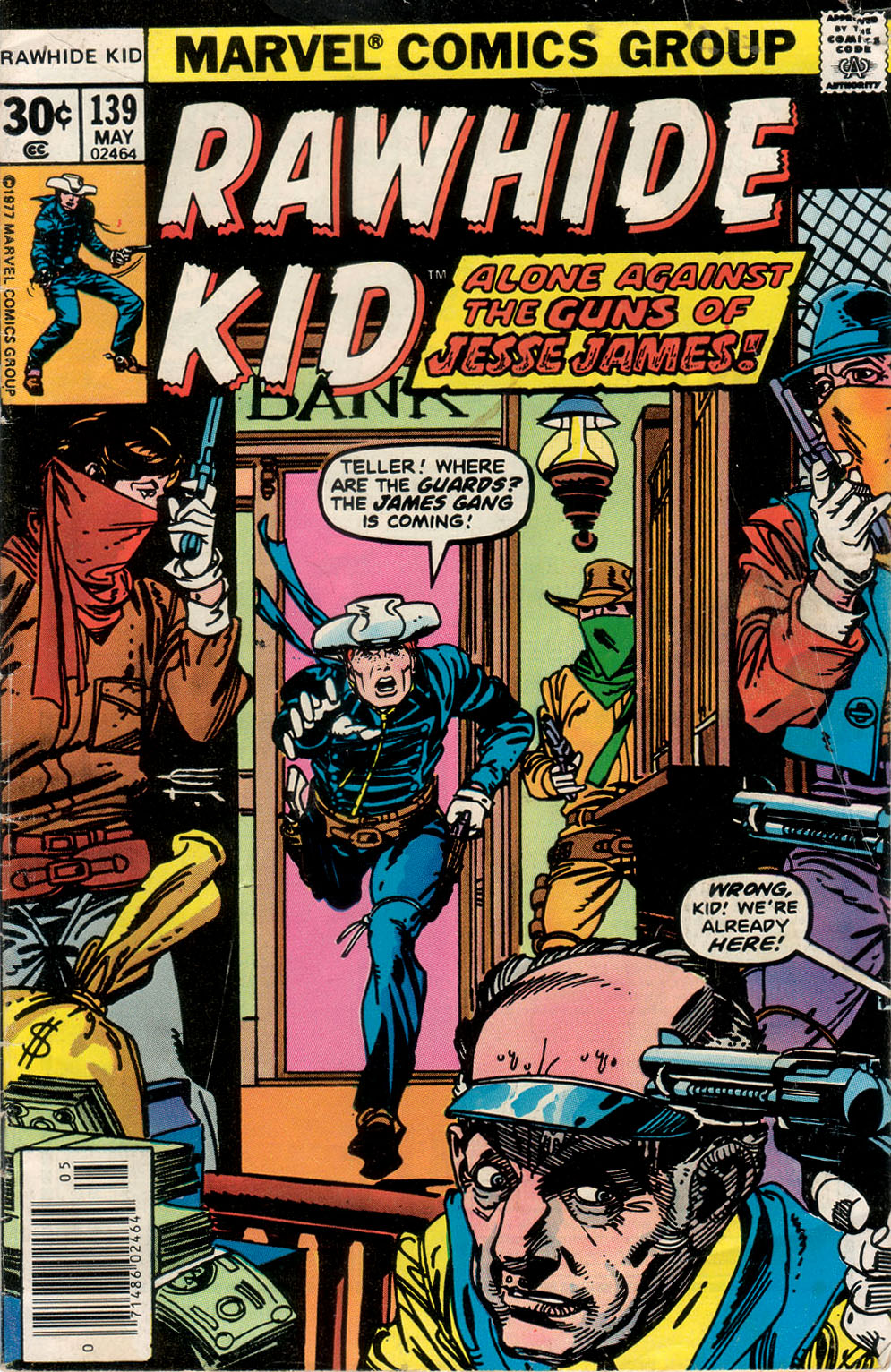 The Rawhide Kid (1955) issue 139 - Page 1