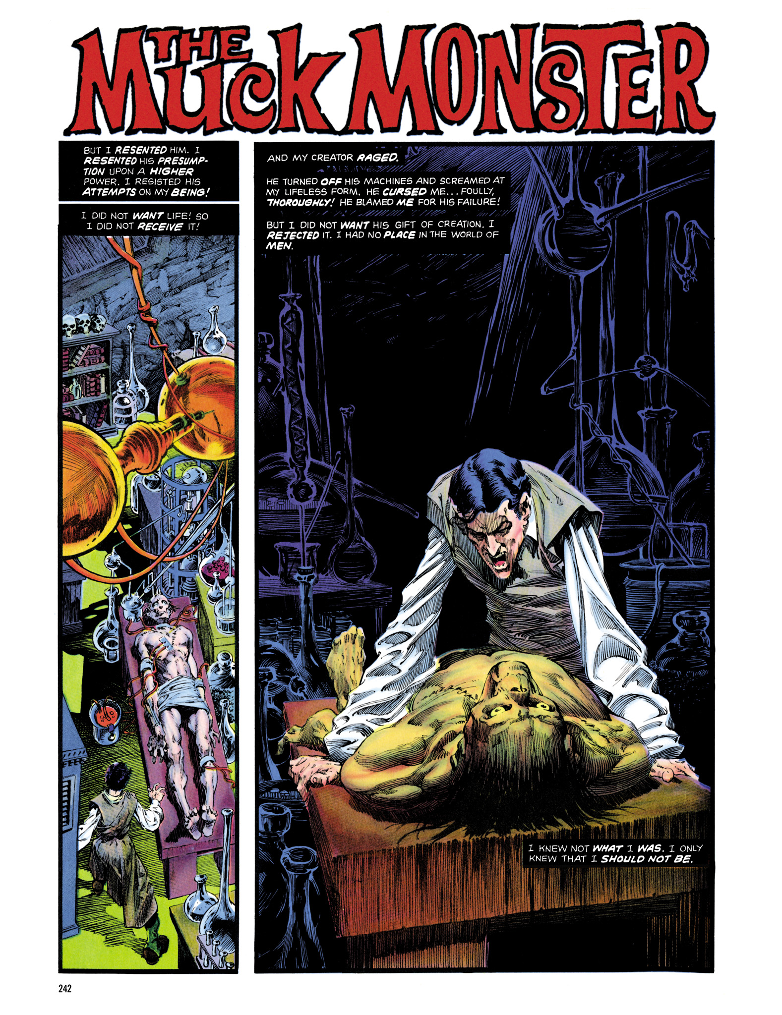 Read online Eerie Archives comic -  Issue # TPB 14 - 243