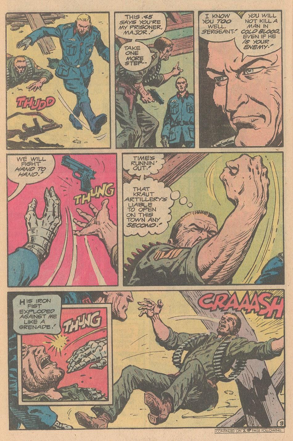 Read online Sgt. Rock comic -  Issue #359 - 10