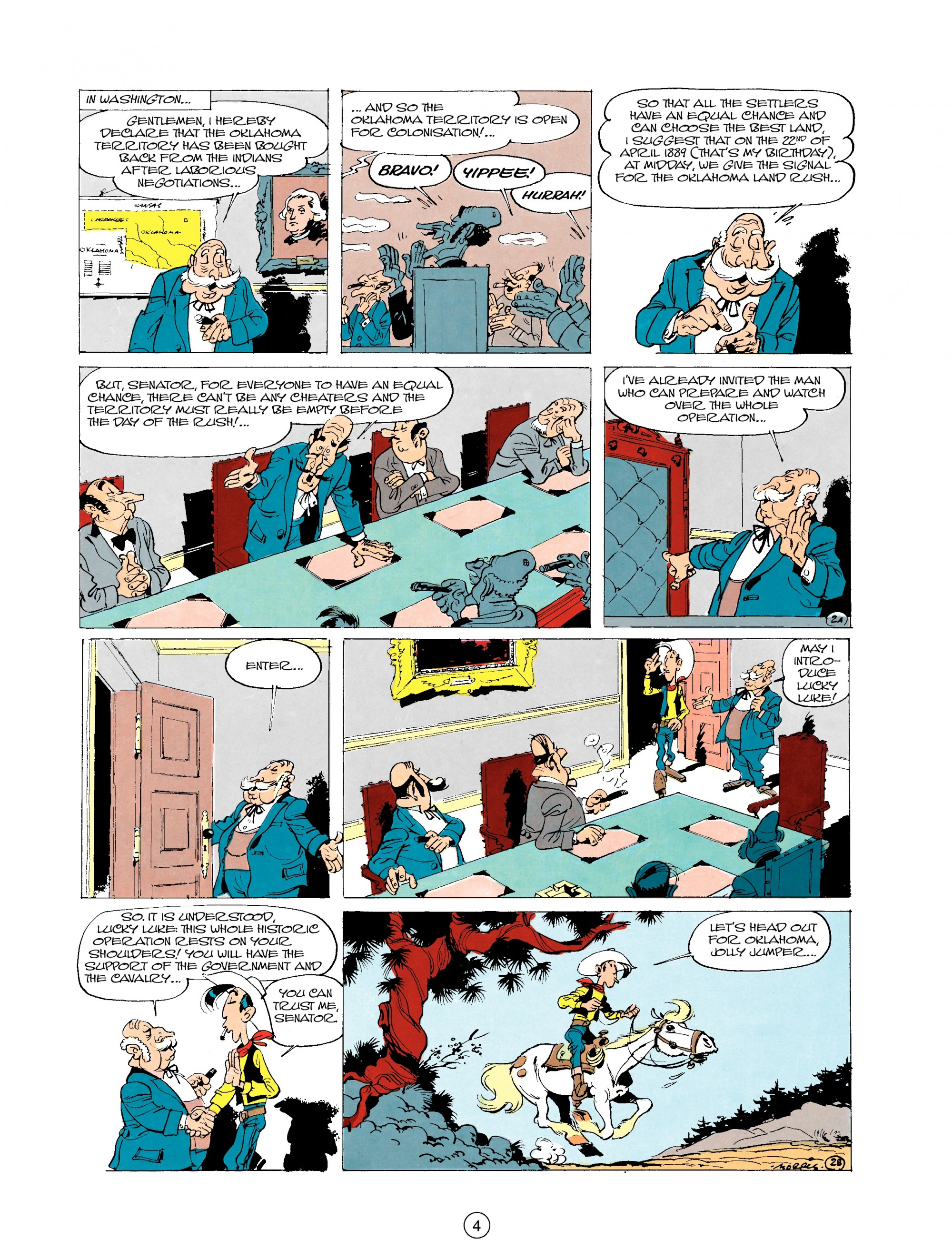 Read online A Lucky Luke Adventure comic -  Issue #20 - 4