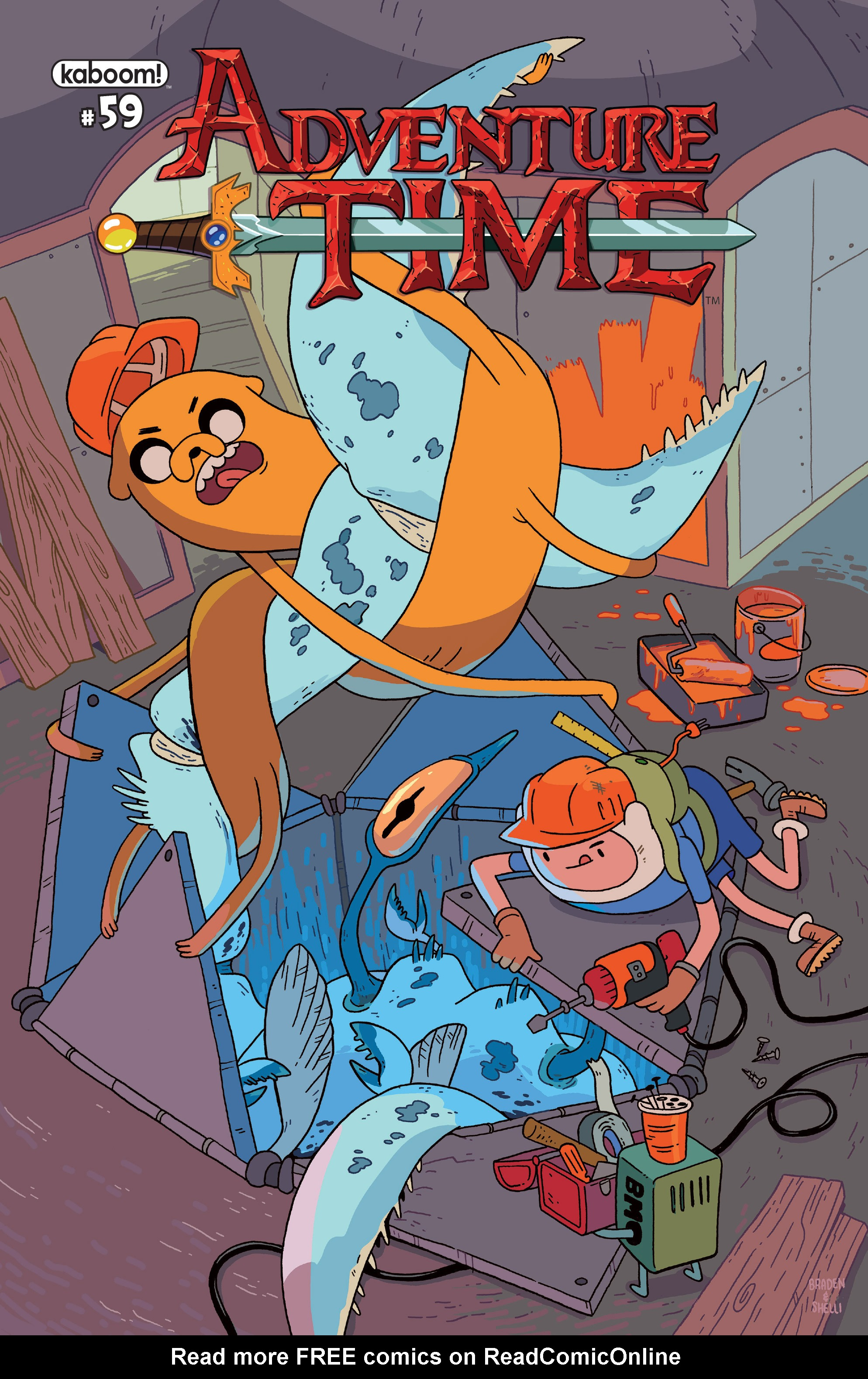 Read online Adventure Time comic -  Issue #59 - 1