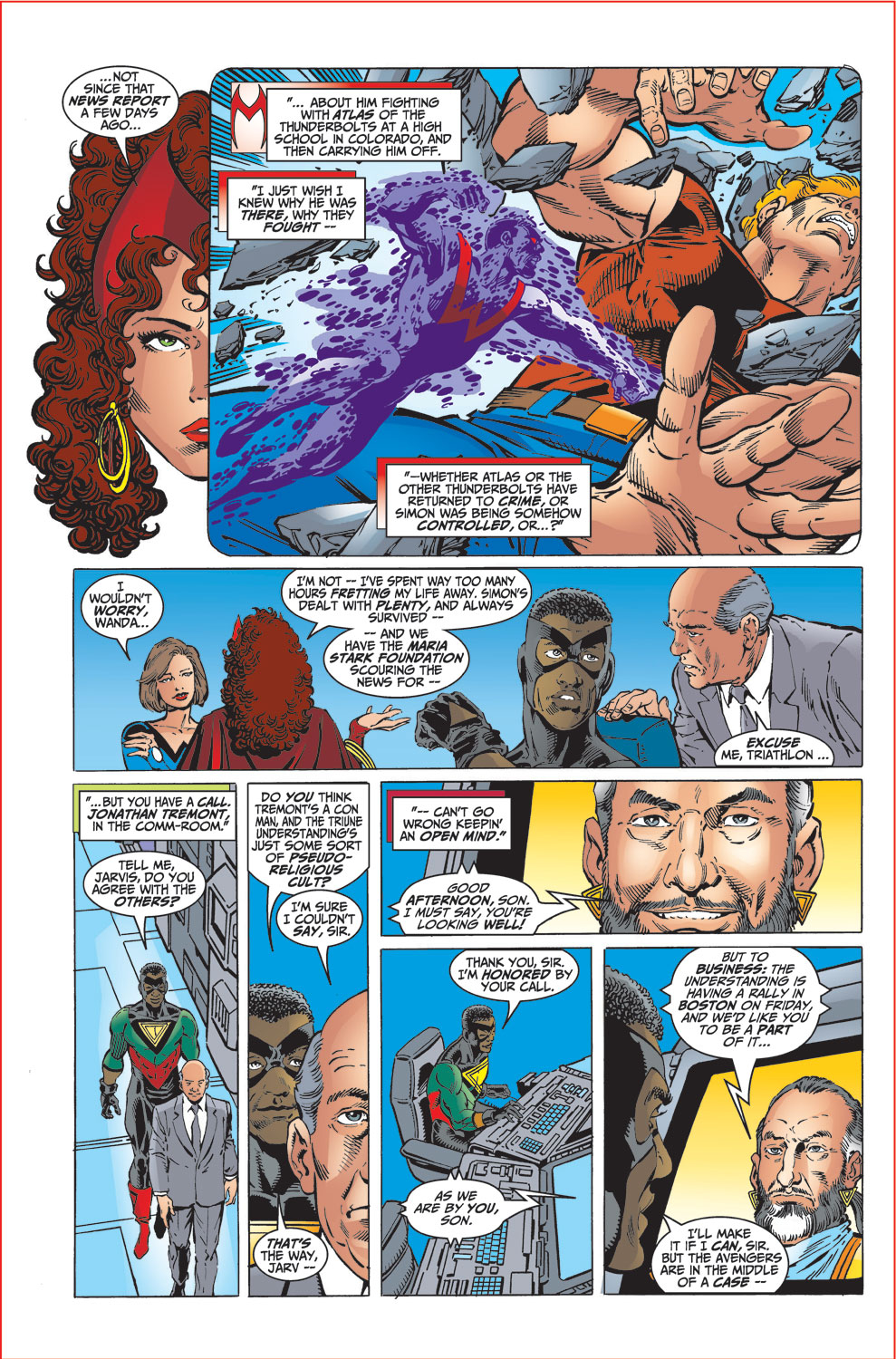 Read online Avengers (1998) comic -  Issue #32 - 5