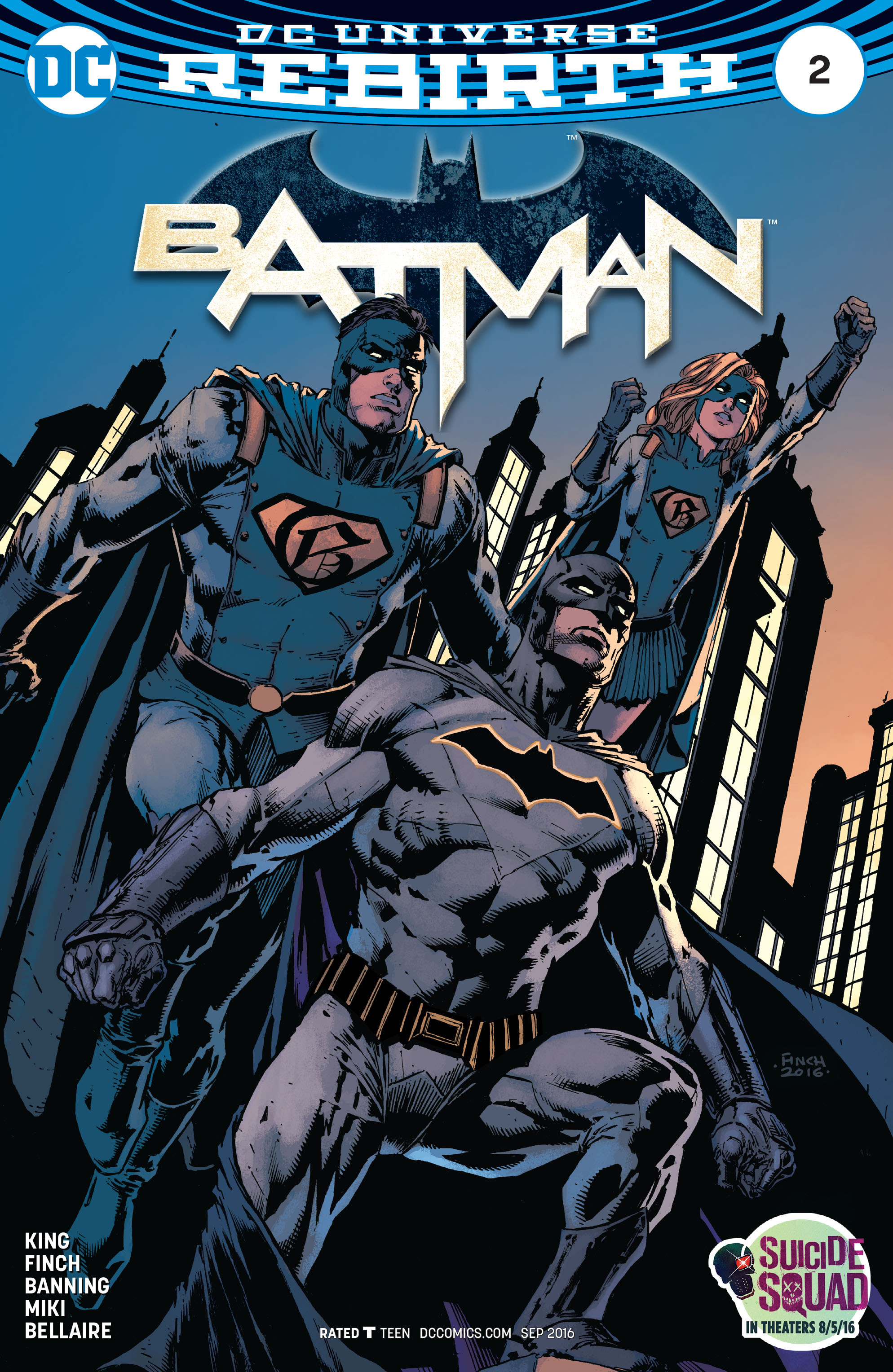 Batman (2016) 2 Page 1