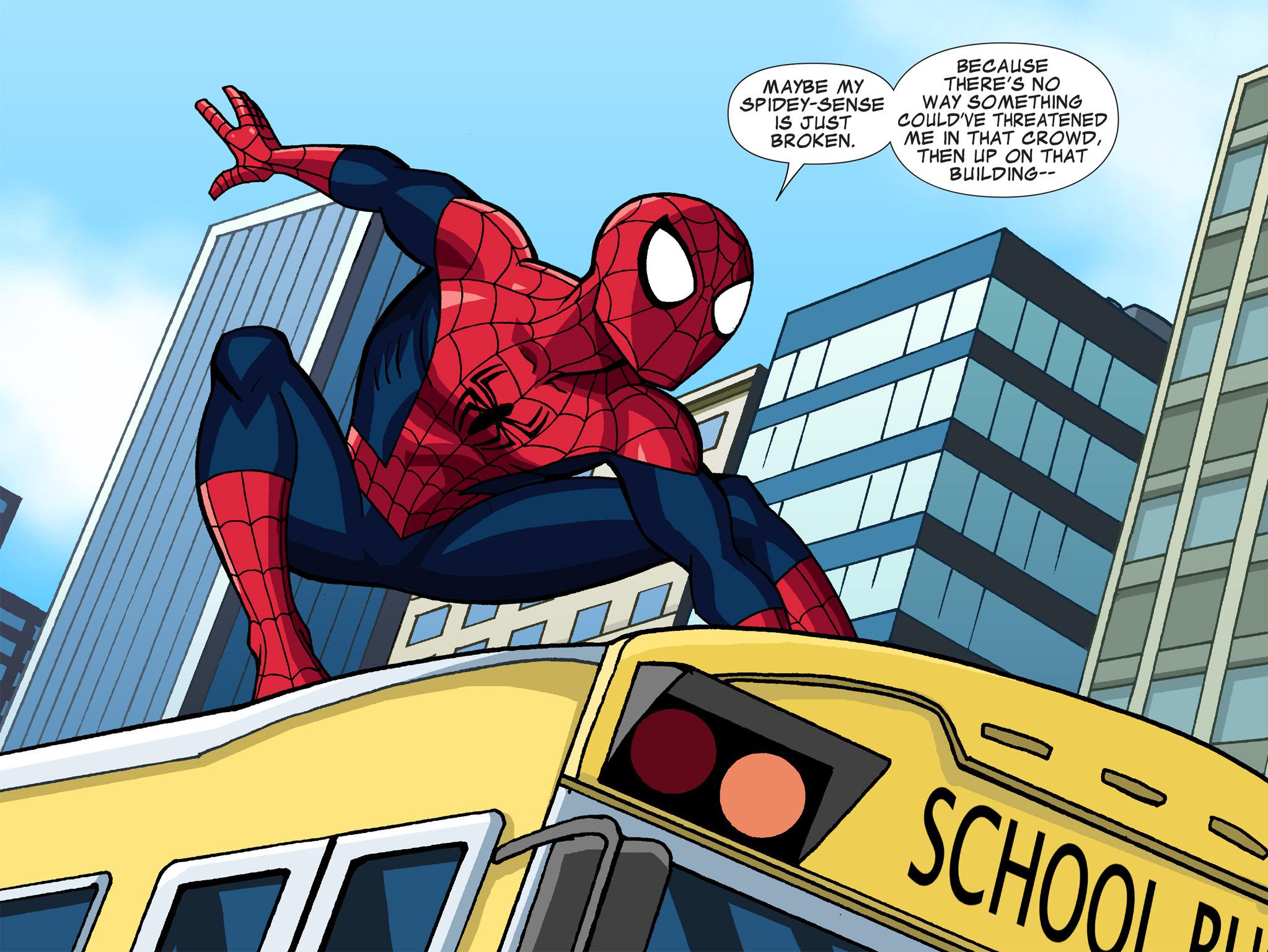 Read online Ultimate Spider-Man (Infinite Comics) (2015) comic -  Issue #1 - 26