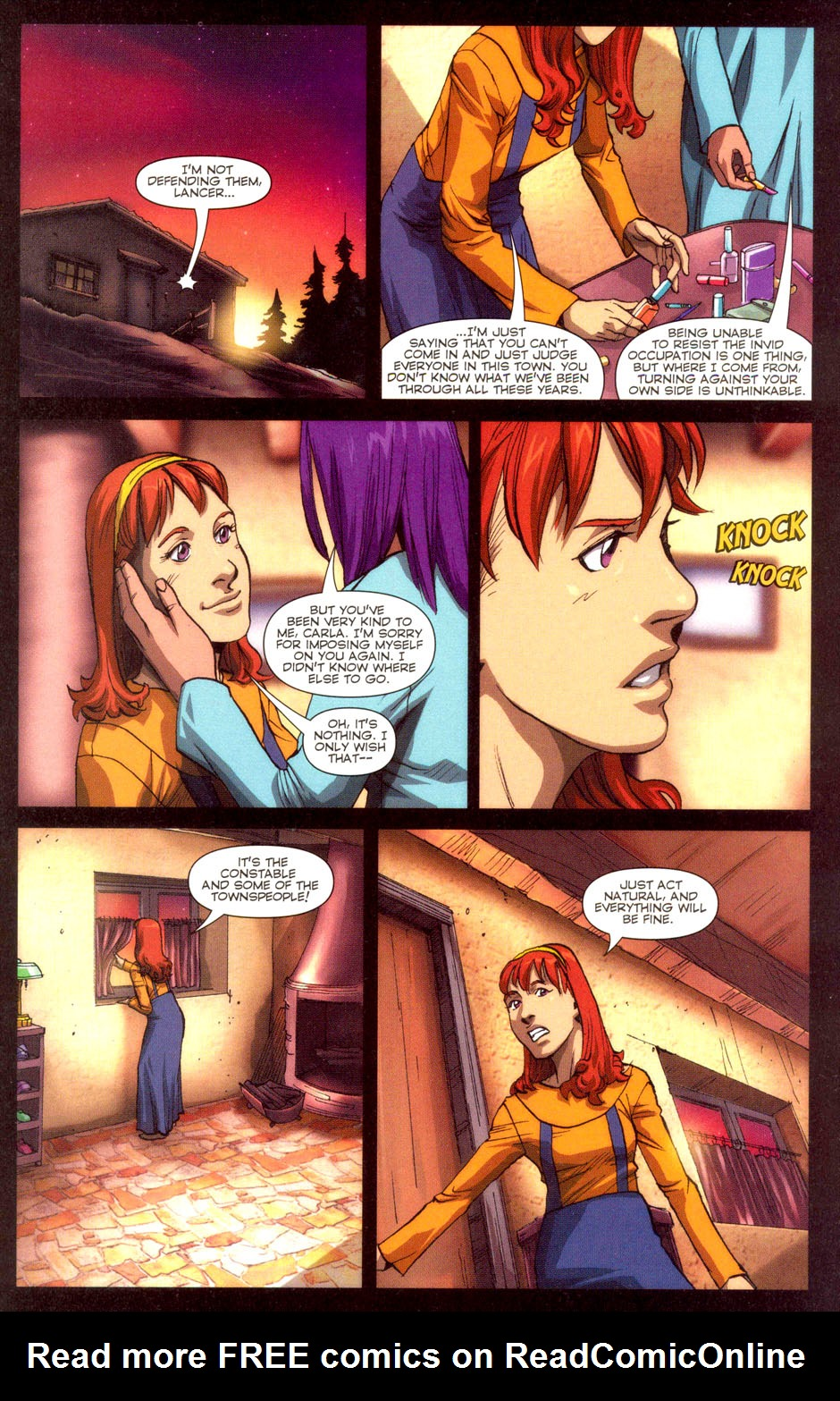 Read online Robotech: Invasion comic -  Issue #3 - 4