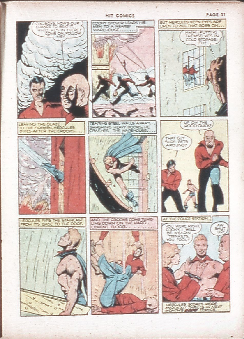 Read online Hit Comics comic -  Issue #7 - 33