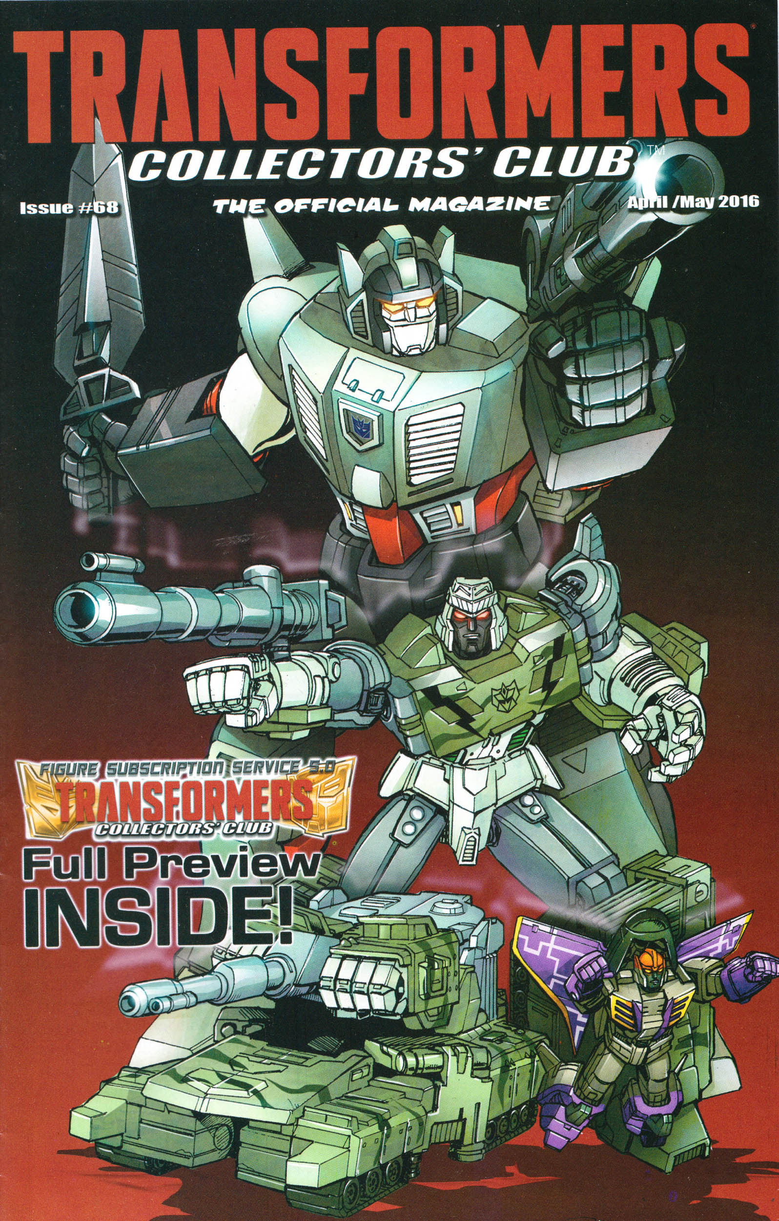 Read online Transformers: Collectors' Club comic -  Issue #68 - 1