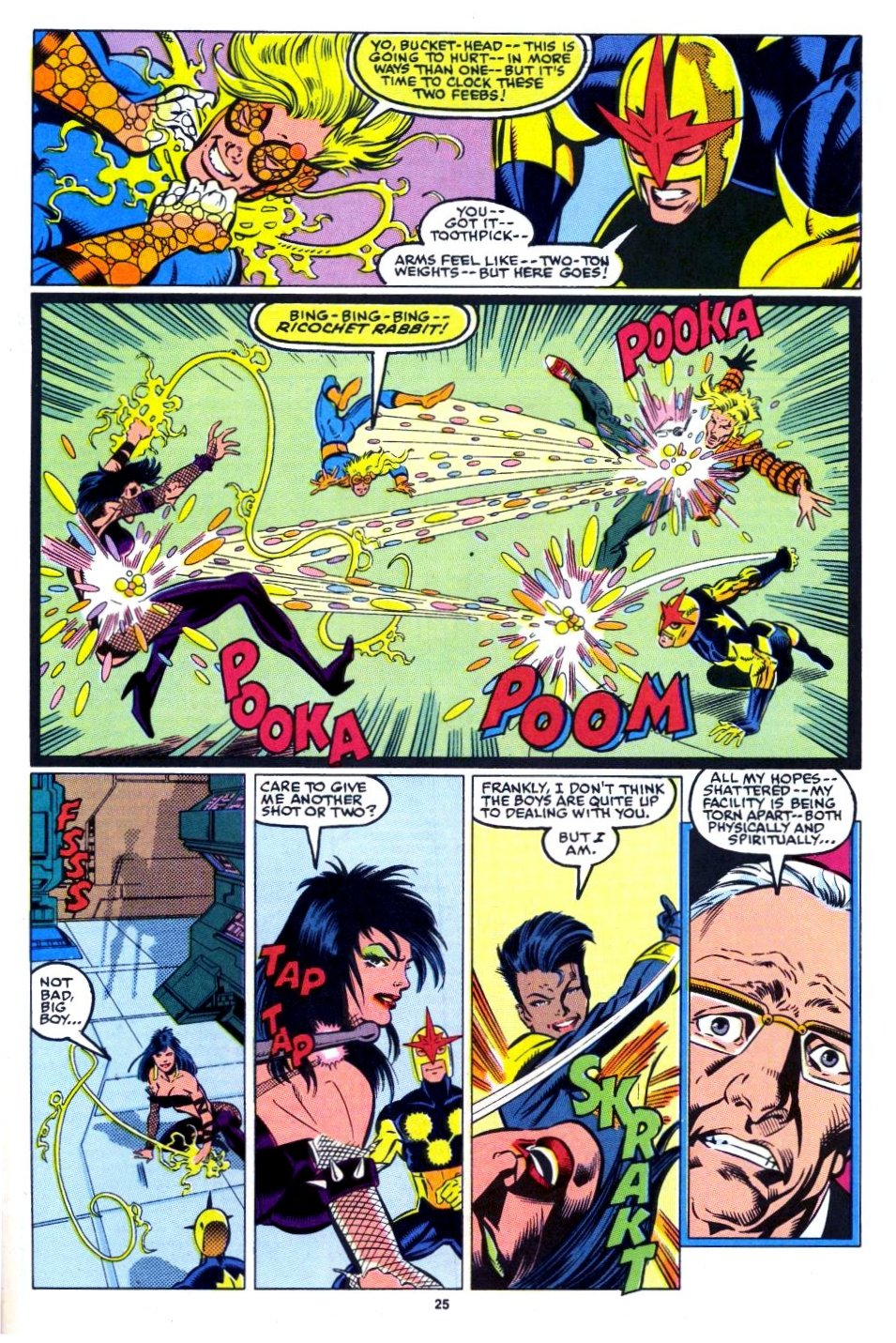 The New Warriors Issue #15 #19 - English 20
