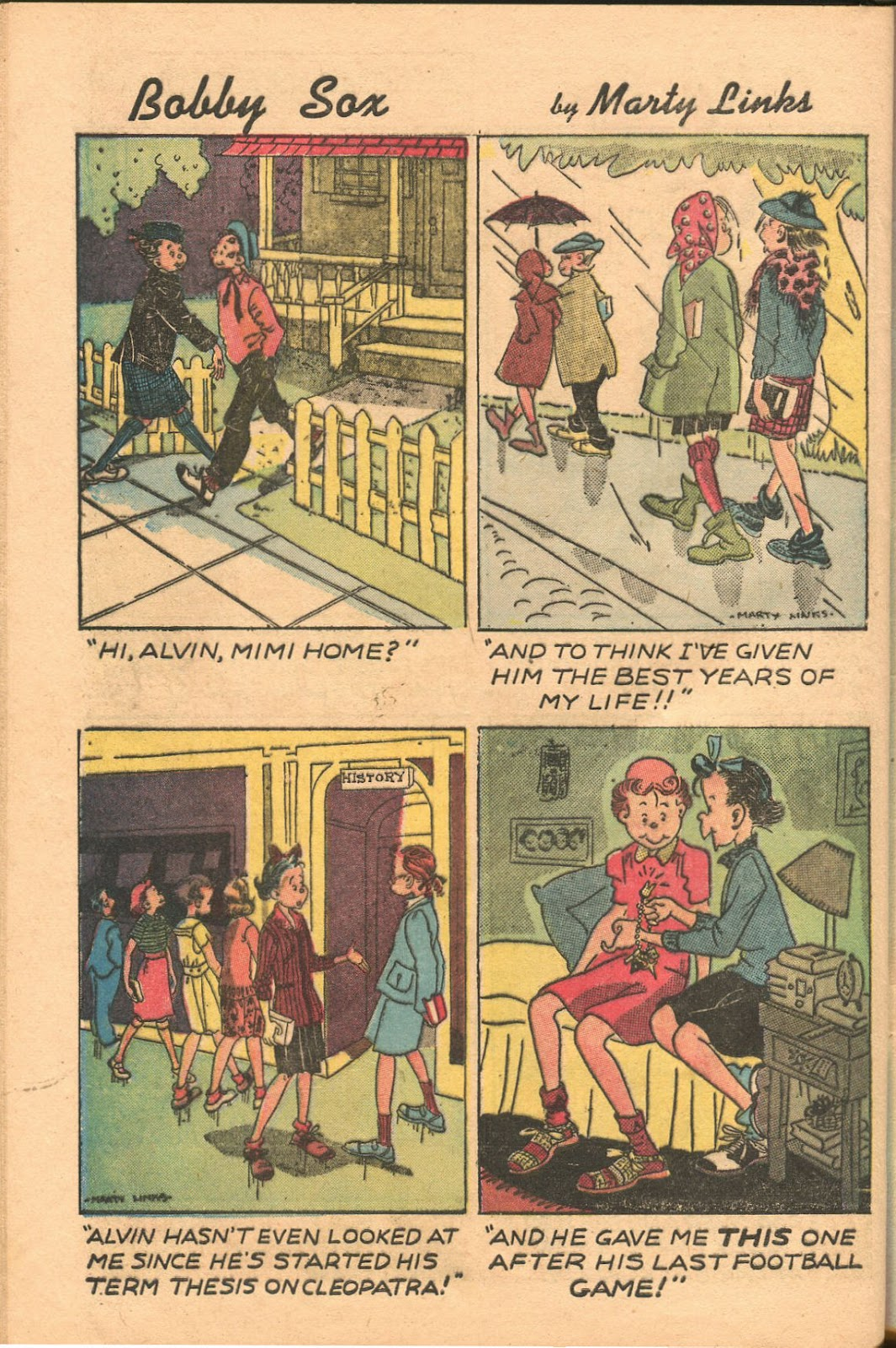 Read online Famous Funnies comic -  Issue #165 - 42