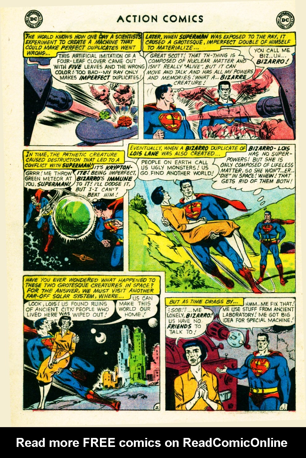 Read online Action Comics (1938) comic -  Issue #263 - 4